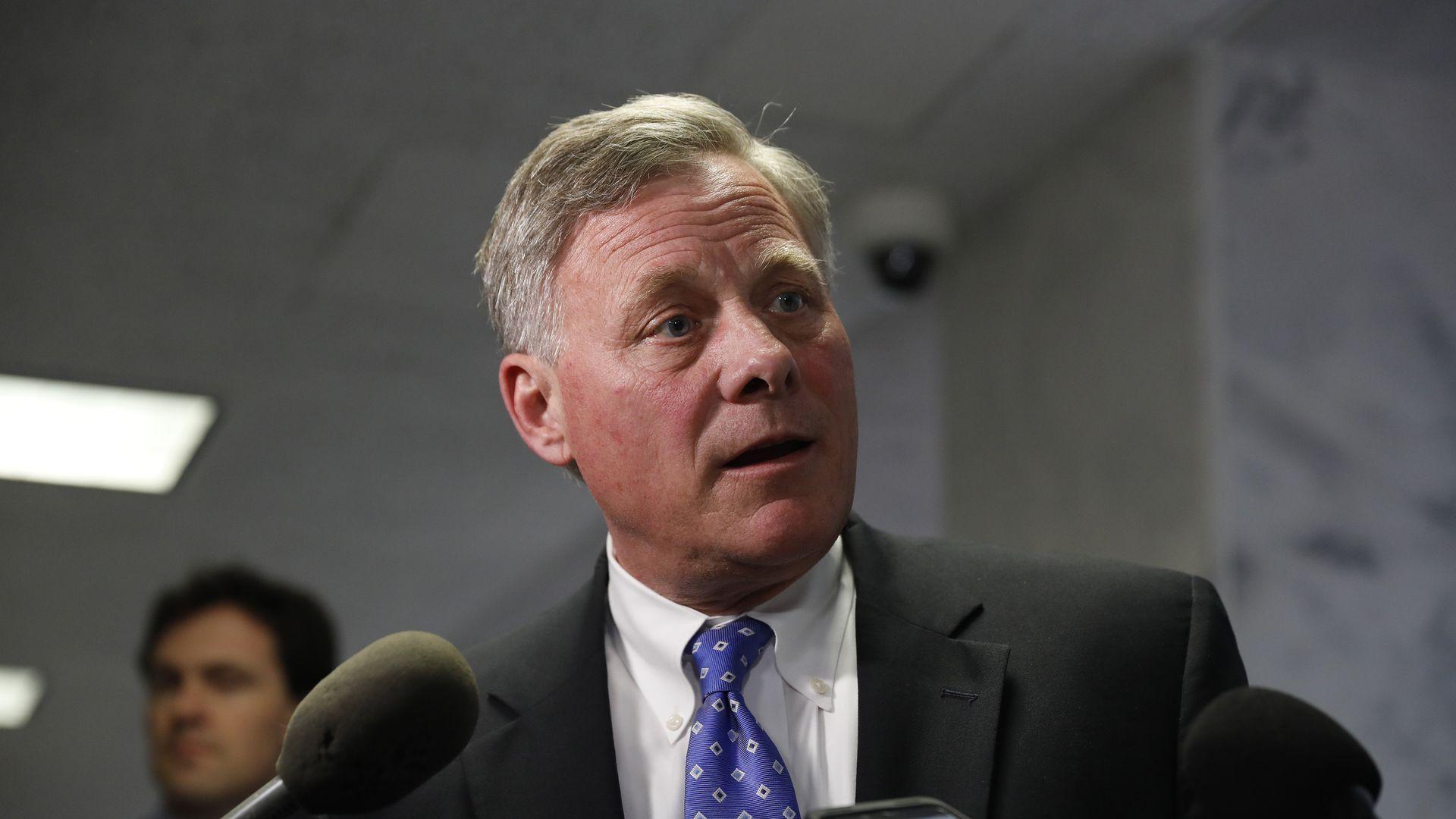 Senate Intelligence Committee Chairman Richard Burr