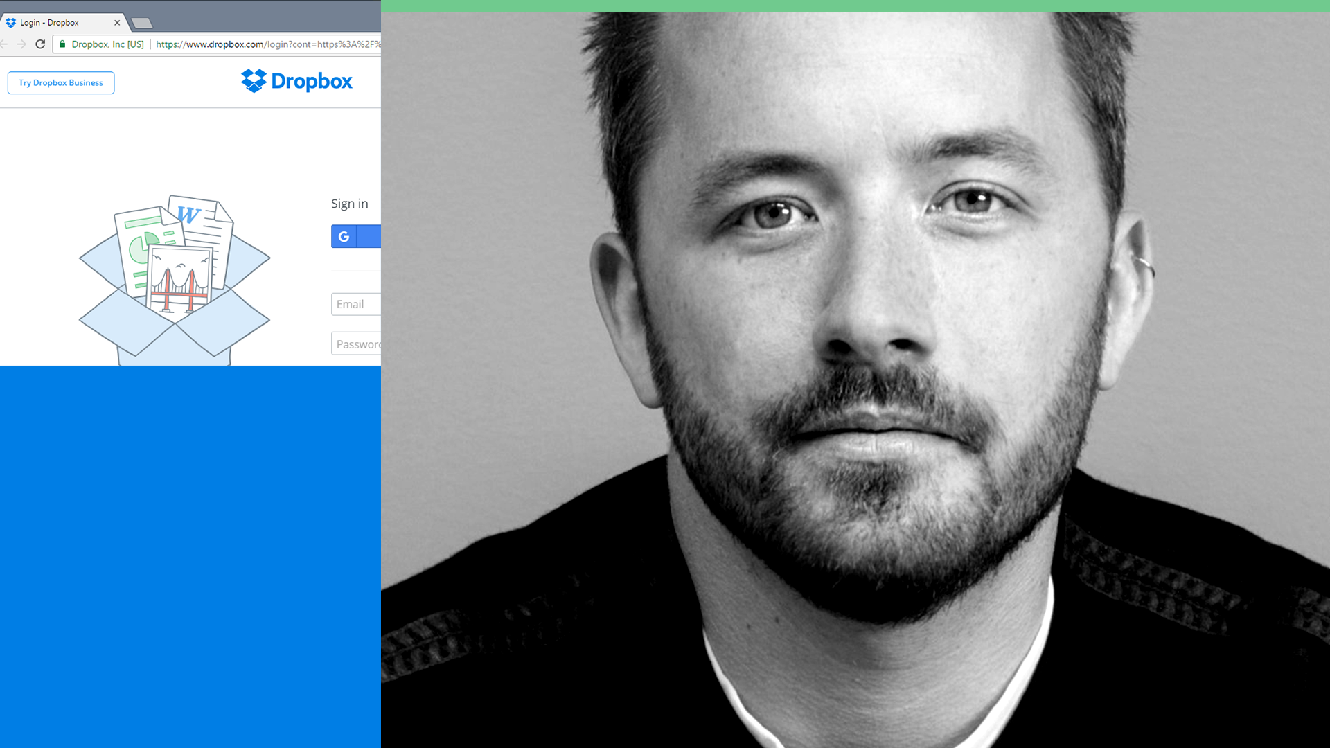 Dropbox co-founder and CEO Drew Houston