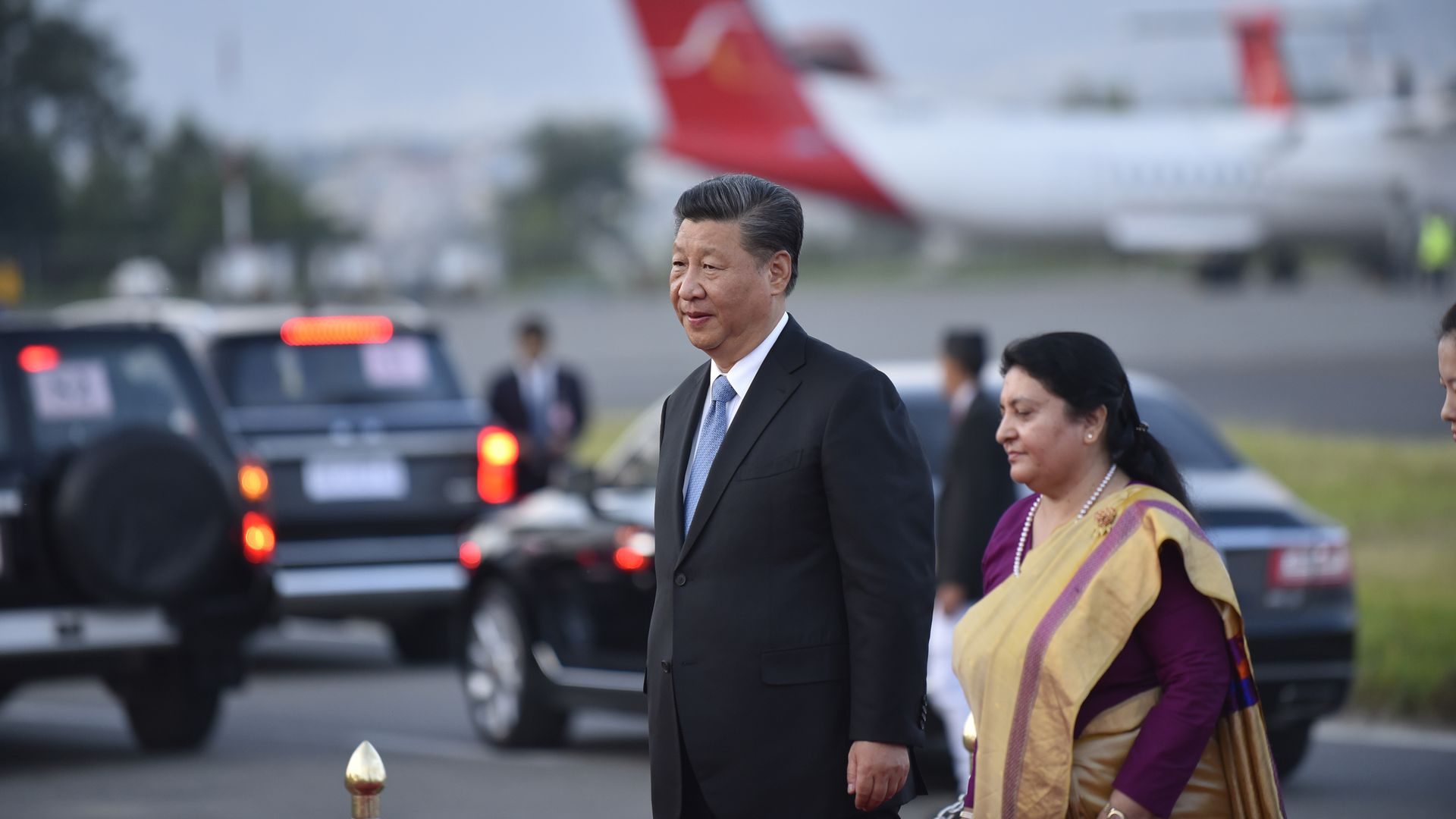 President Xi is first Chinese president to visit Nepal in more than 2 decades
