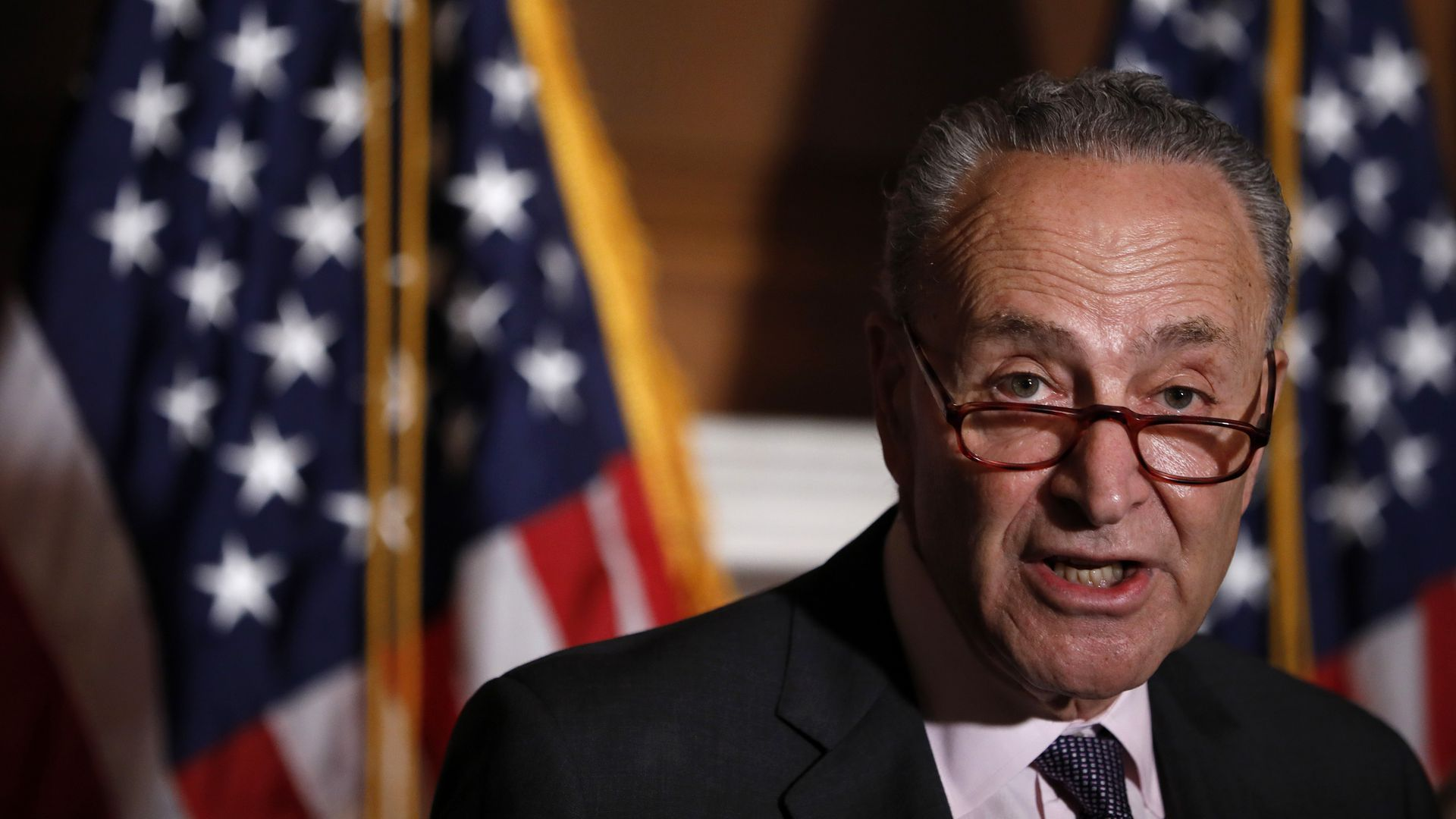 Senate Minority Leader Chuck Schumer. Photo: Aaron P. Bernstein/Getty Images