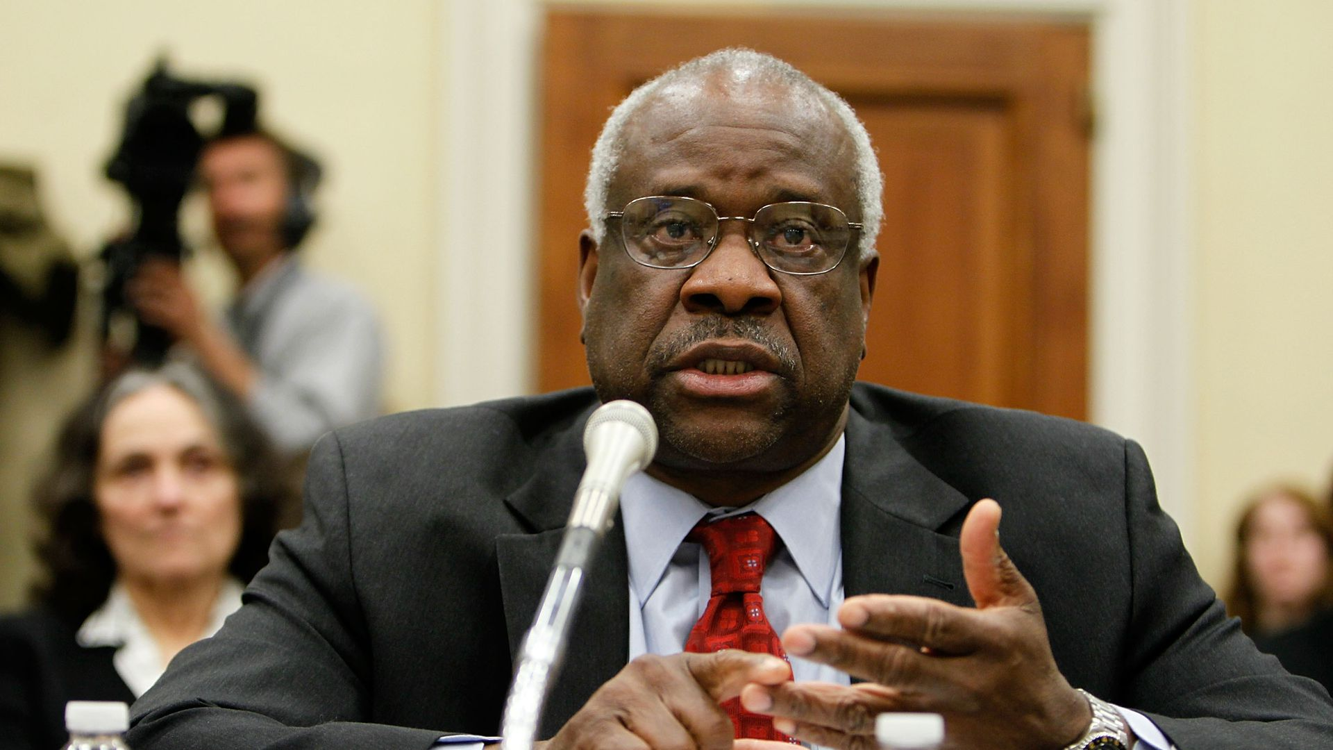 Clarence Thomas testifies to Congress