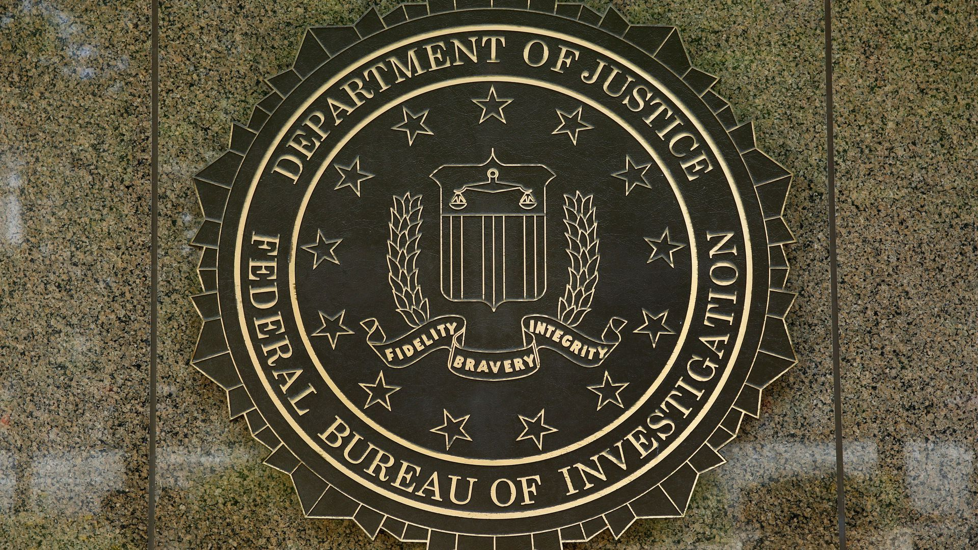 The FBI seal.