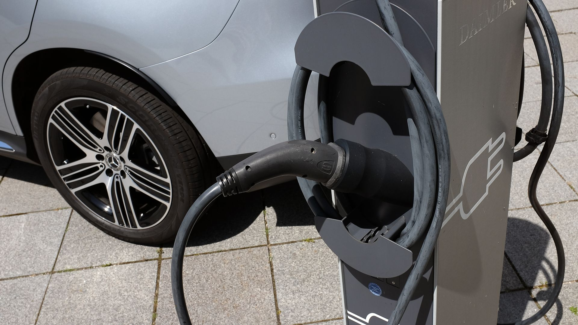 An EV charger