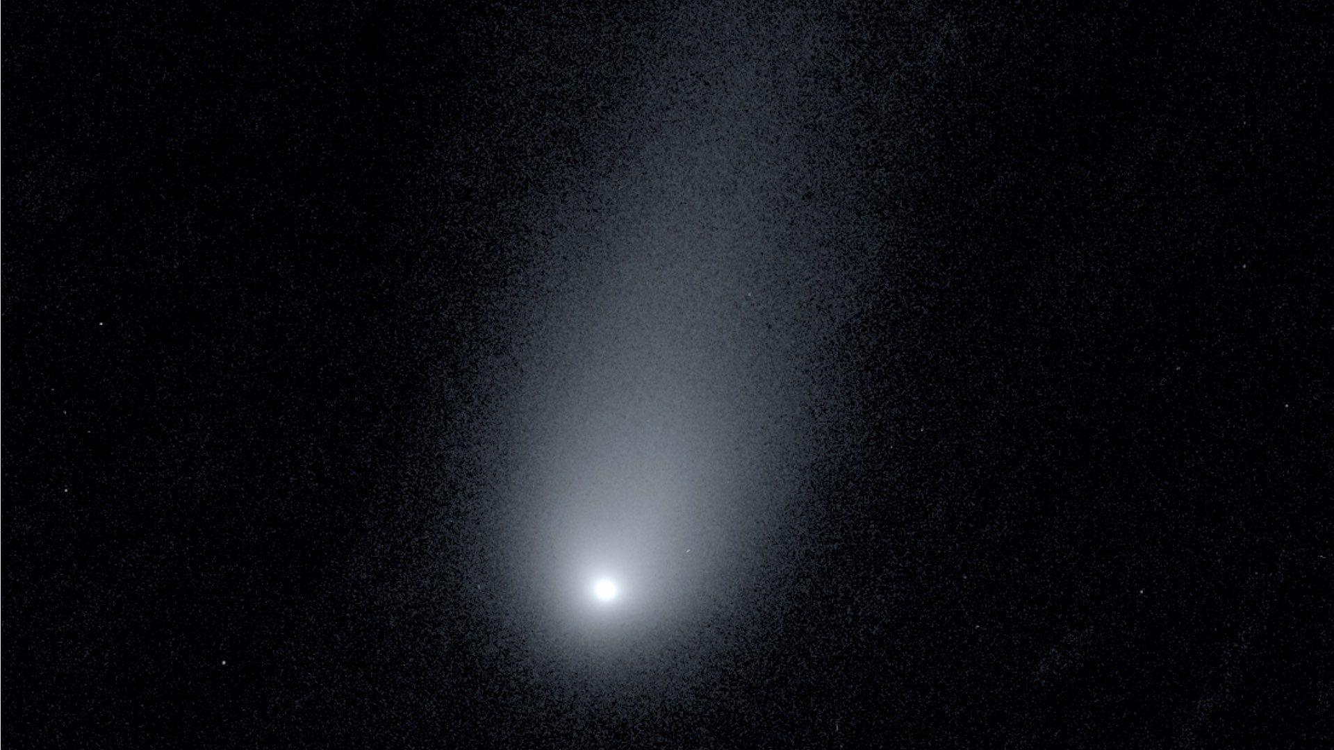 A photo of the interstellar comet 2I/Borisov.