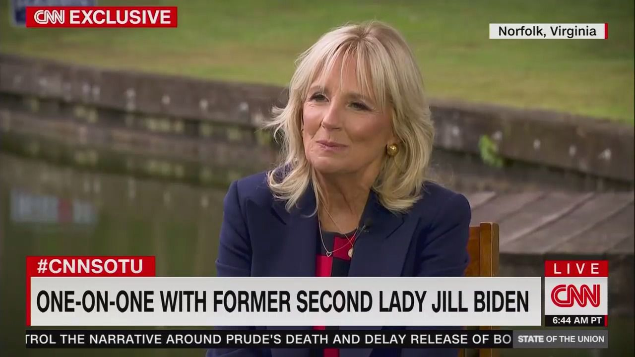 "Jill Biden: ""After Trump, you cannot even say the word 'gaffe'"""