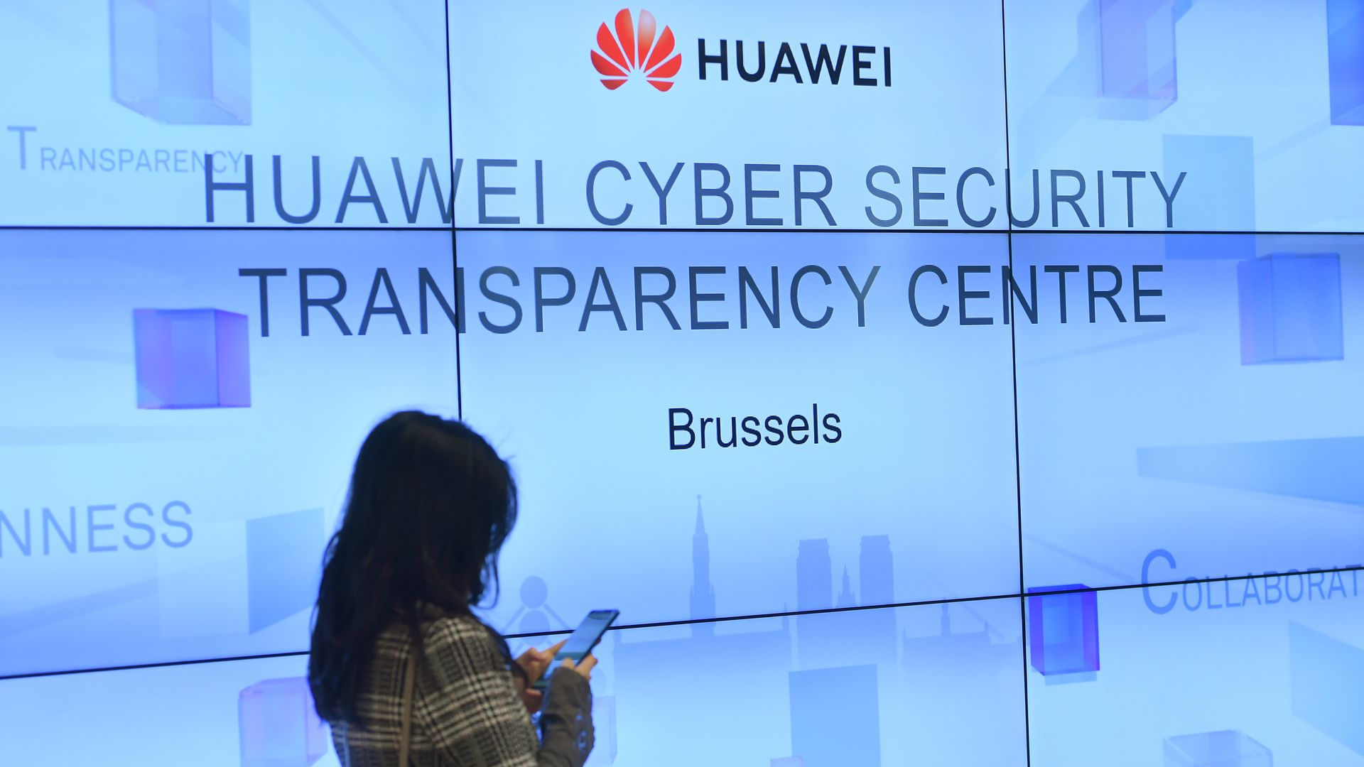 Huawei Cybersecurity Center on May 21, 2019 in Brussels