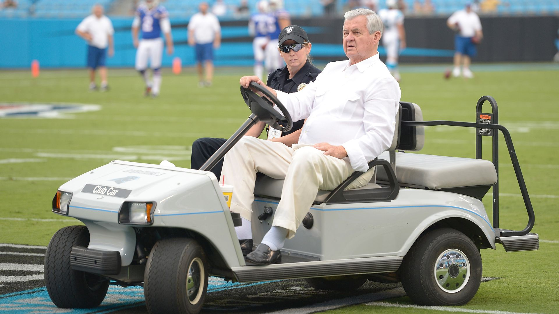 Carolina Panthers owner Jerry Richardson.