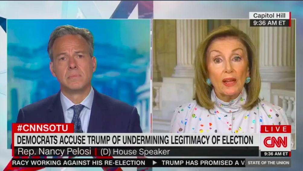 "Nancy Pelosi says ""of course"" she would accept election results if Trump wins thumbnail"