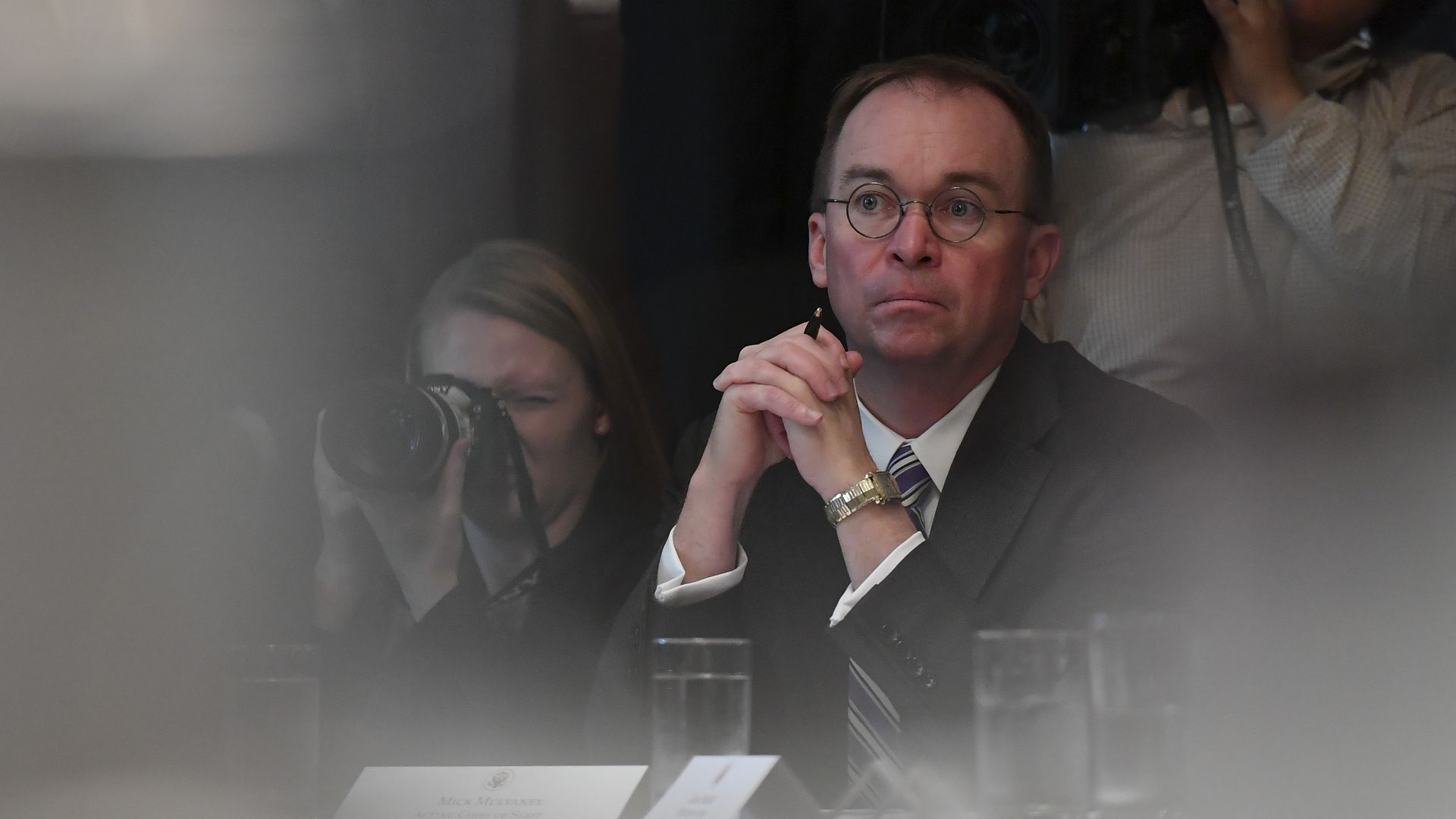 Mulvaney denies Fiona Hill testimony tying him to Ukraine scheme