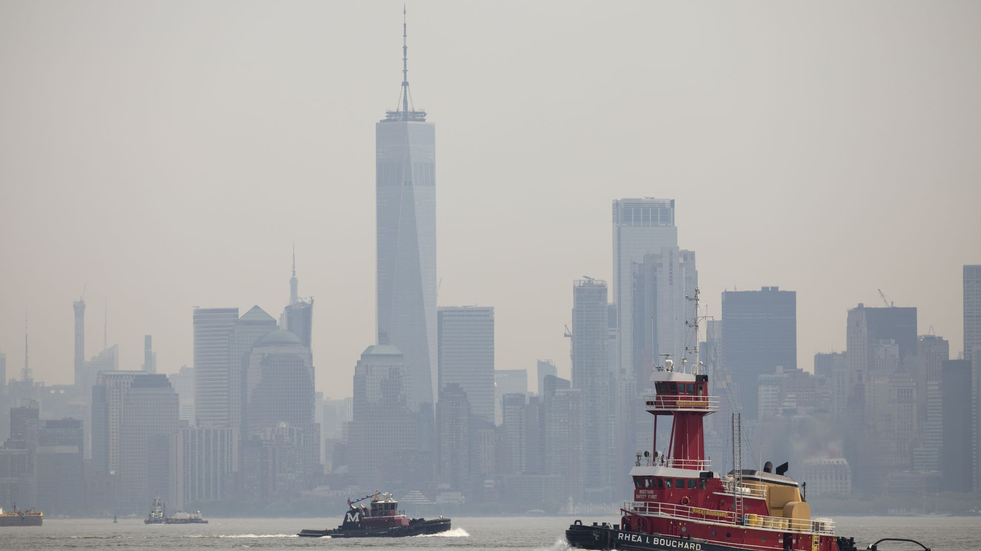 Low air quality in New York City