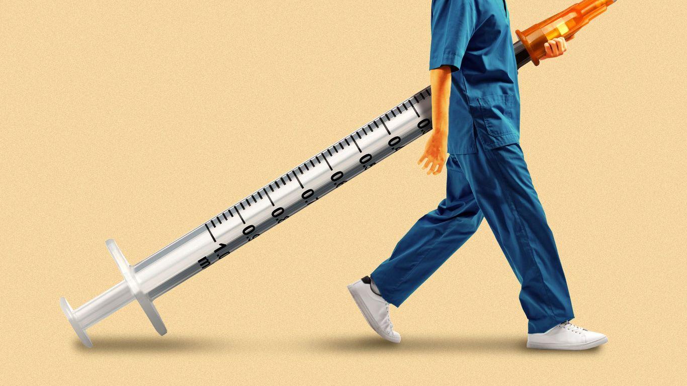 Low vaccination rates exacerbate America's caregiving crisis