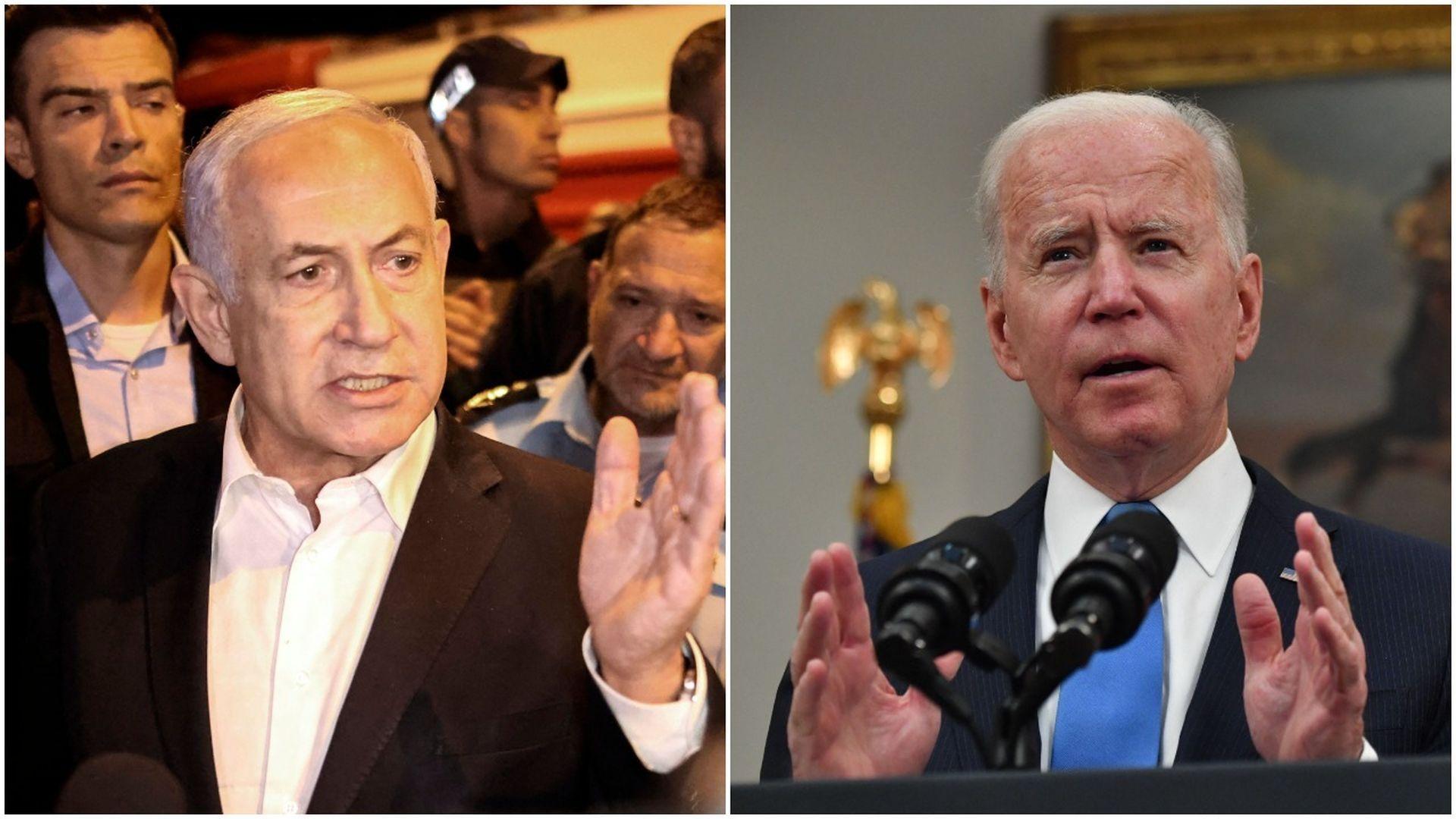 Netanyahu and Biden
