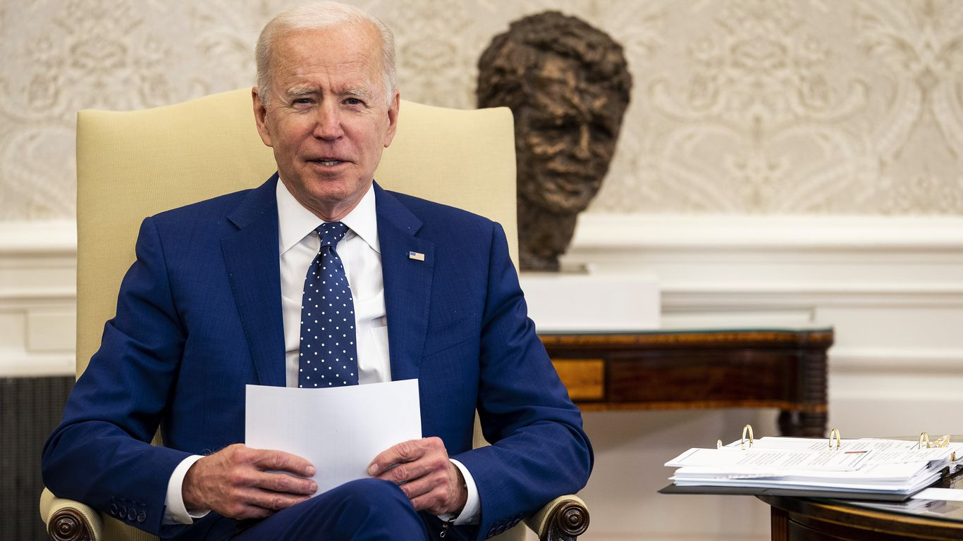 Biden unveils economy-wide vow to reduce greenhouse gas emissions by up to 52 percent by 2030 thumbnail