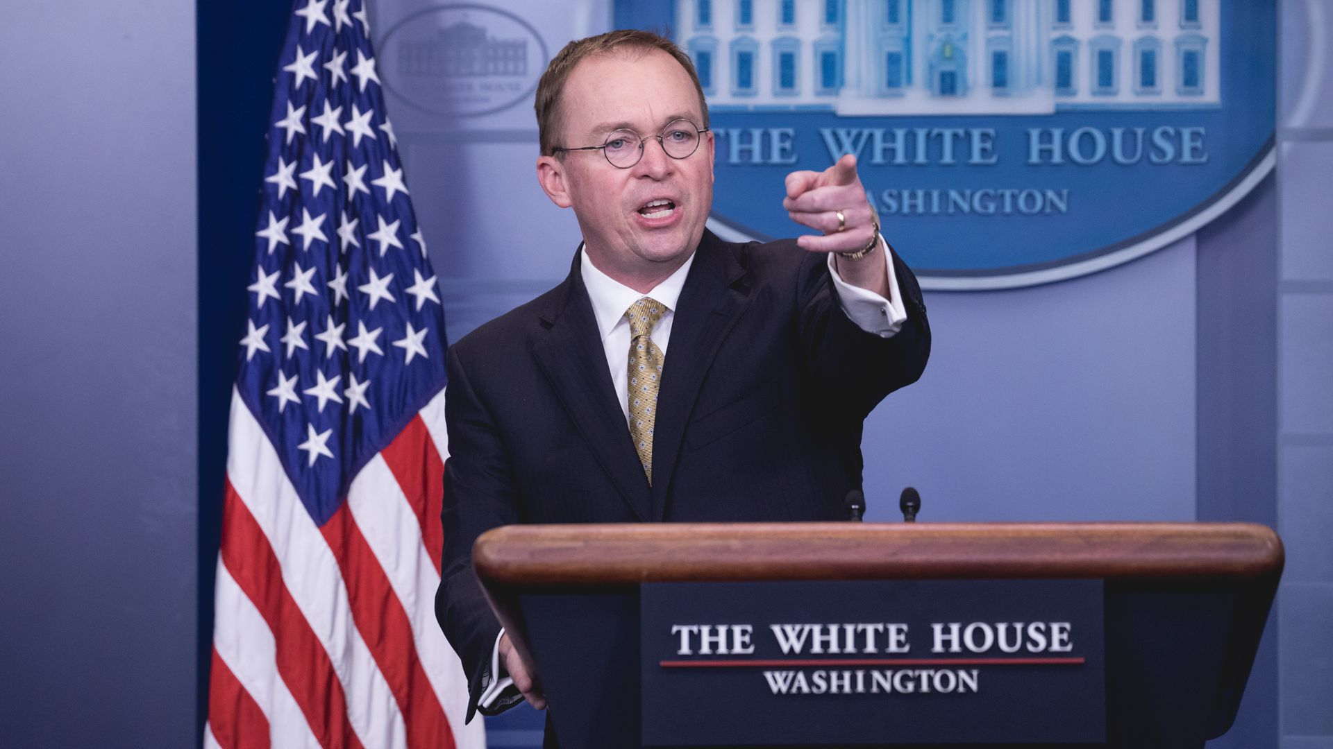 Mulvaney tells ex-White House security clearance official not to testify before House