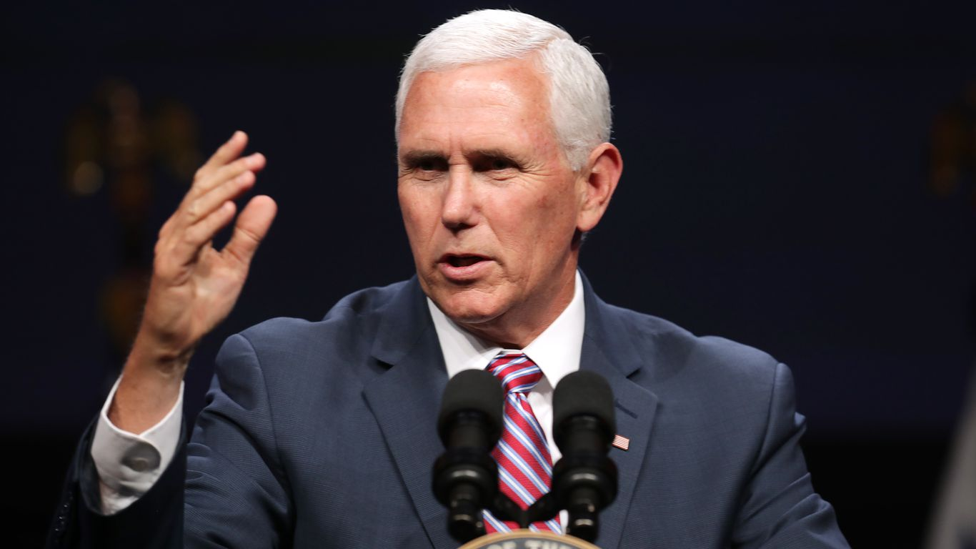 Pence breaks silence to condemn Democrats' sweeping voting reform bill