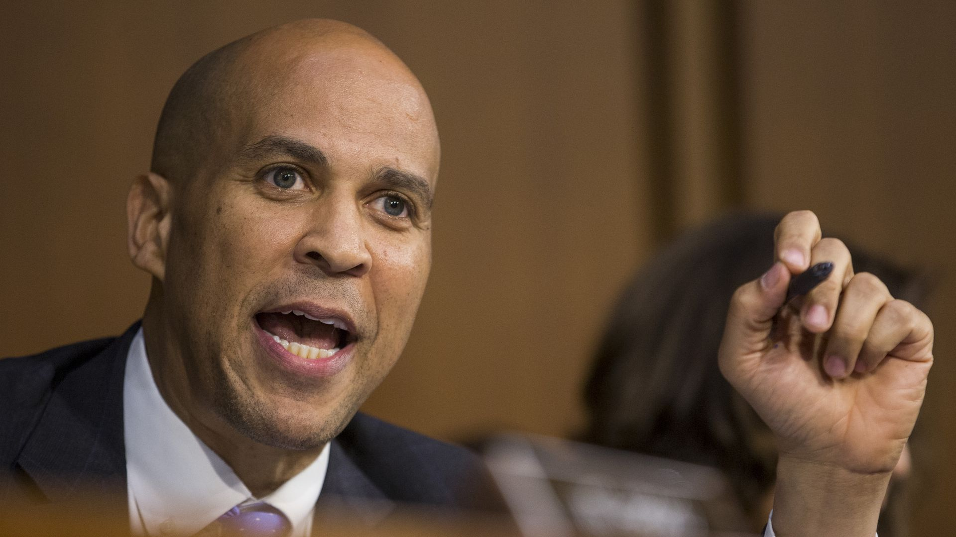 Cory Booker during Brett Kavanaugh's confirmation hearing.