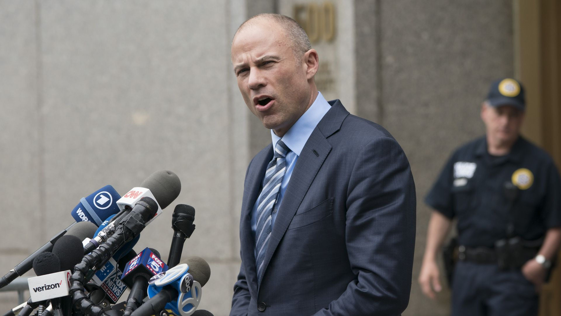 Michael Avenatti. Photo: Don Emmert/AFP/Getty Images