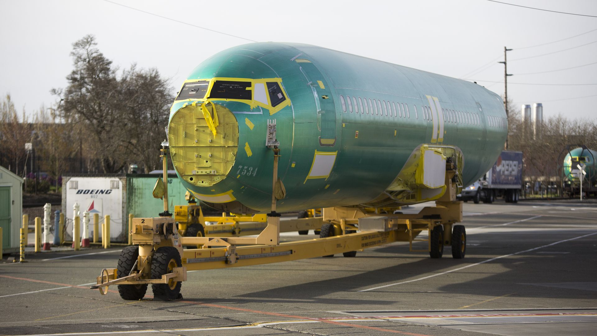 Boeing's profits slide after 737 MAX grounding