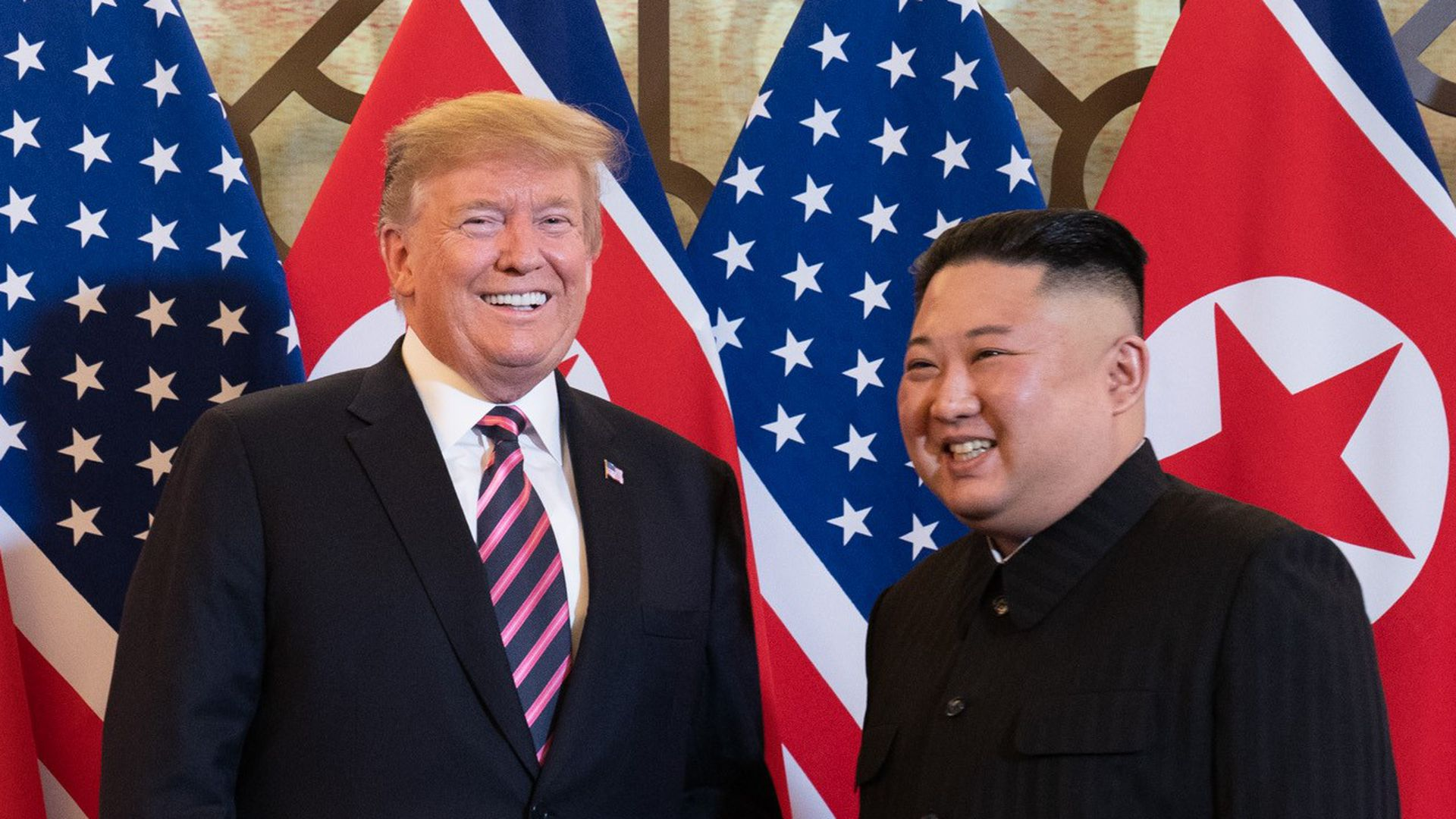 Researchers say they observed attacks as President Trump met with Kim Jong-un.