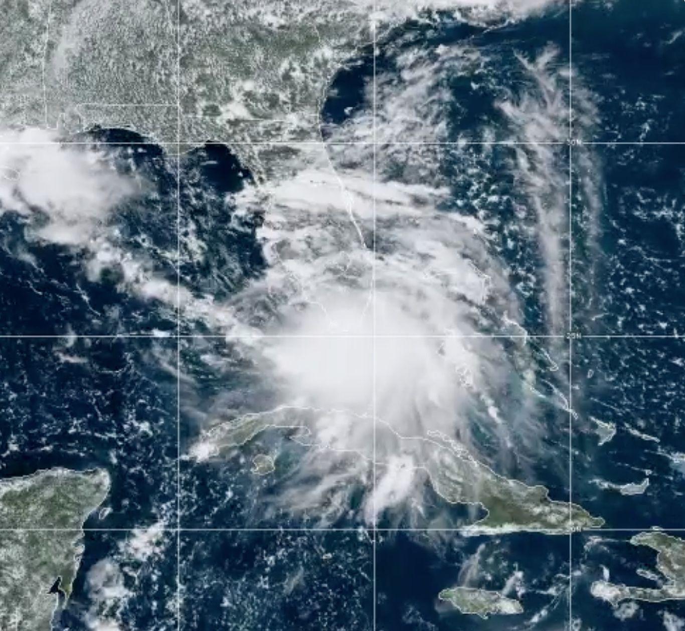 Tropical Storm Sally forms off Florida coast: Louisiana, Alabama, Florida on hurricane watch thumbnail