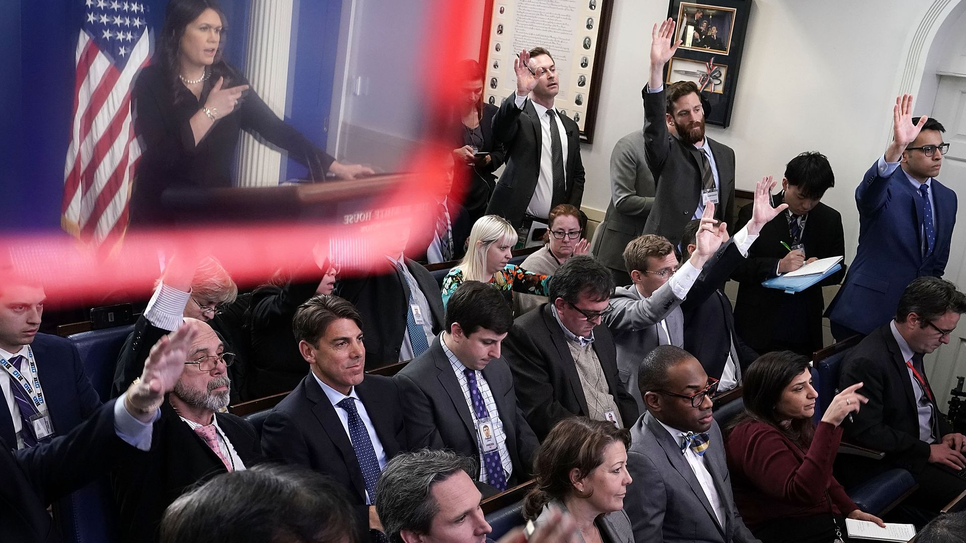 Senate passes unanimous resolution avowing a free press