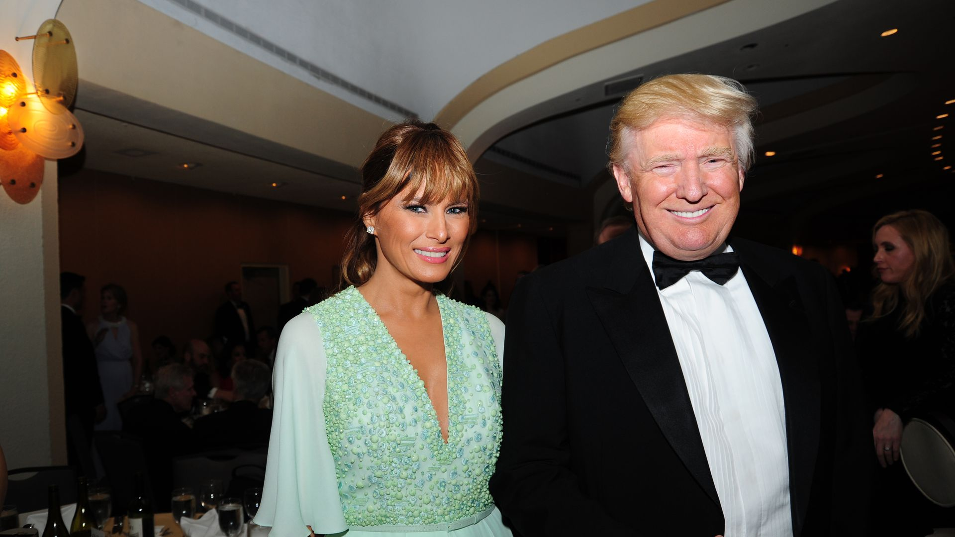Trump and Melania
