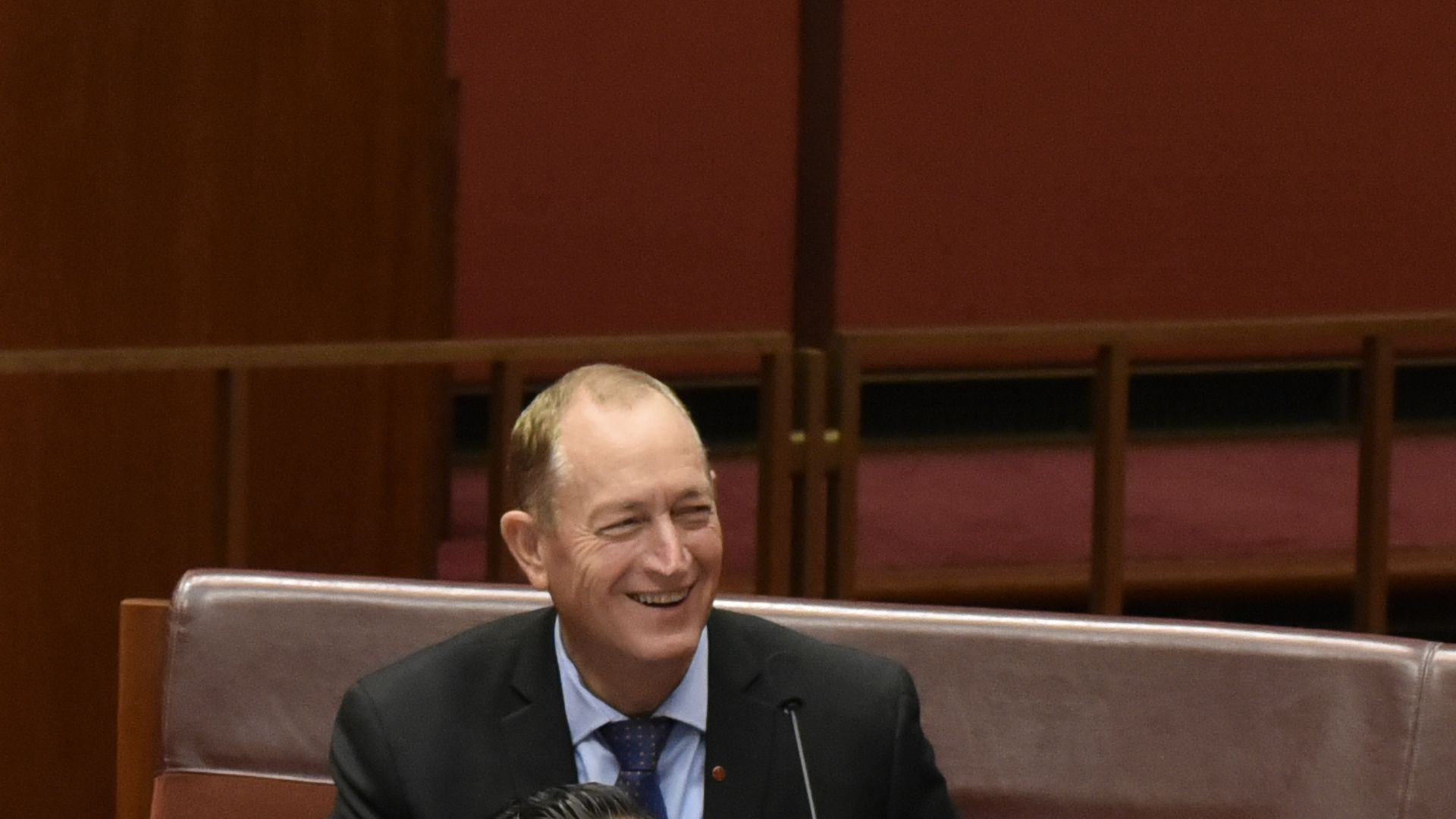 Fraser Anning won't apologize for his controversial behavior.