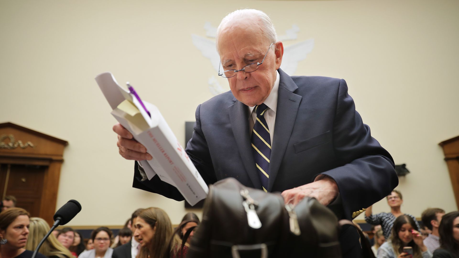 Former Nixon counsel John Dean draws 6 parallels between Mueller report and Watergate