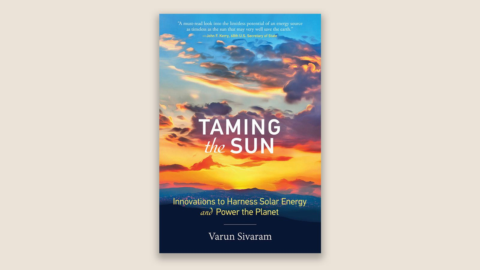 Taming the Sun book cover