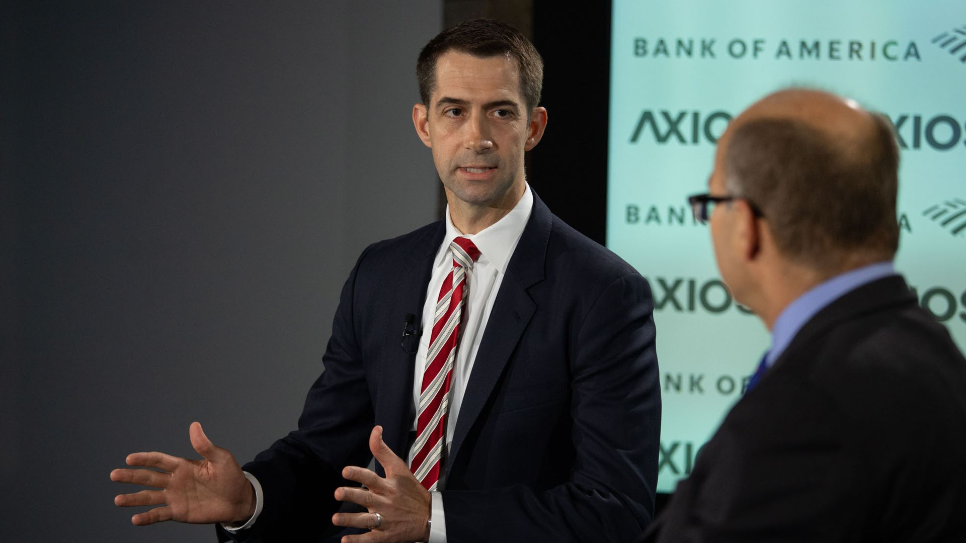 "Tom Cotton on Trump's racist tweets: ""The president is gonna tweet what he's gonna tweet"""