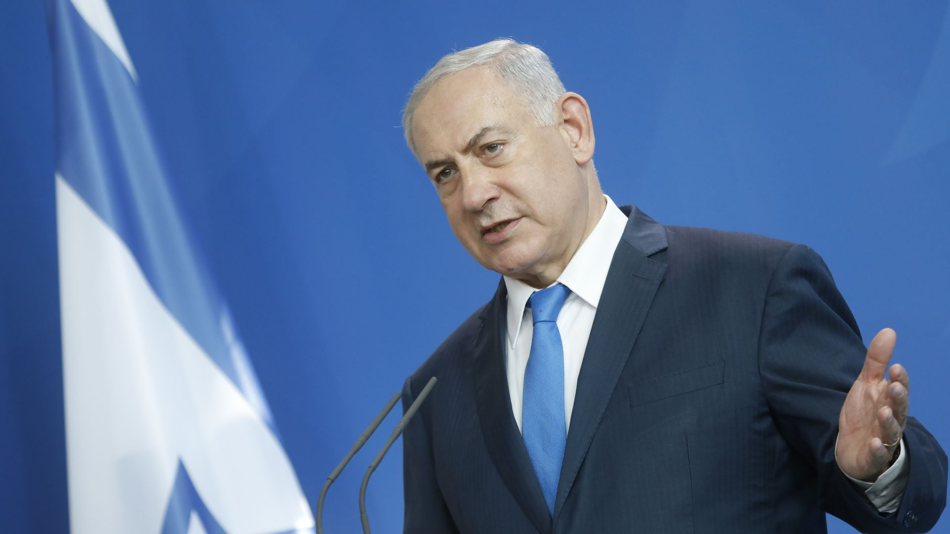 Israel's Prime Minister Benjamin Netanyahu. Photo: Michele Tantussi/Getty Images