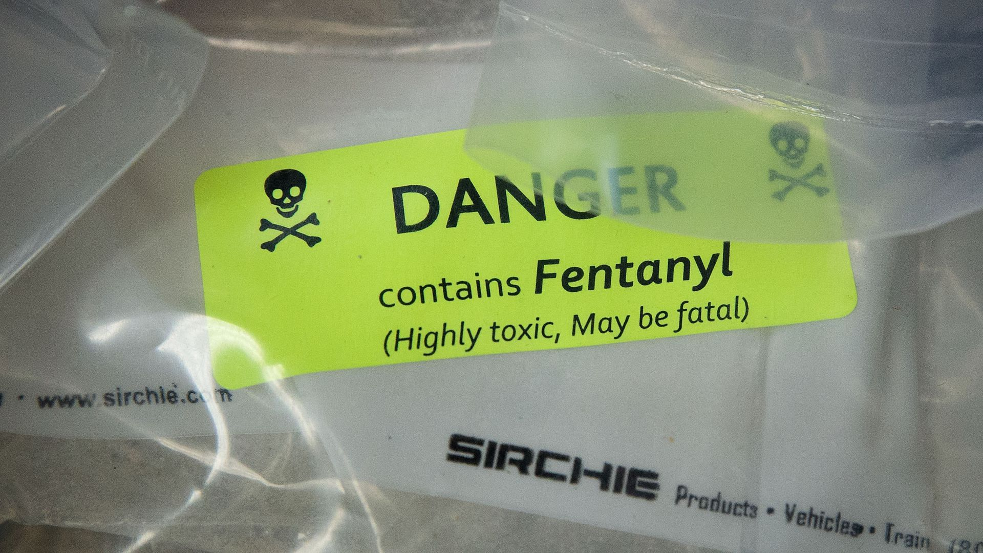 As the opioid crisis deepens, deadly fentanyl from China