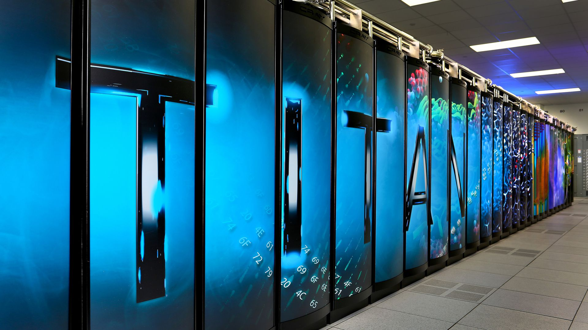 The Titan Supercomputer is one of the fastest systems in the world.