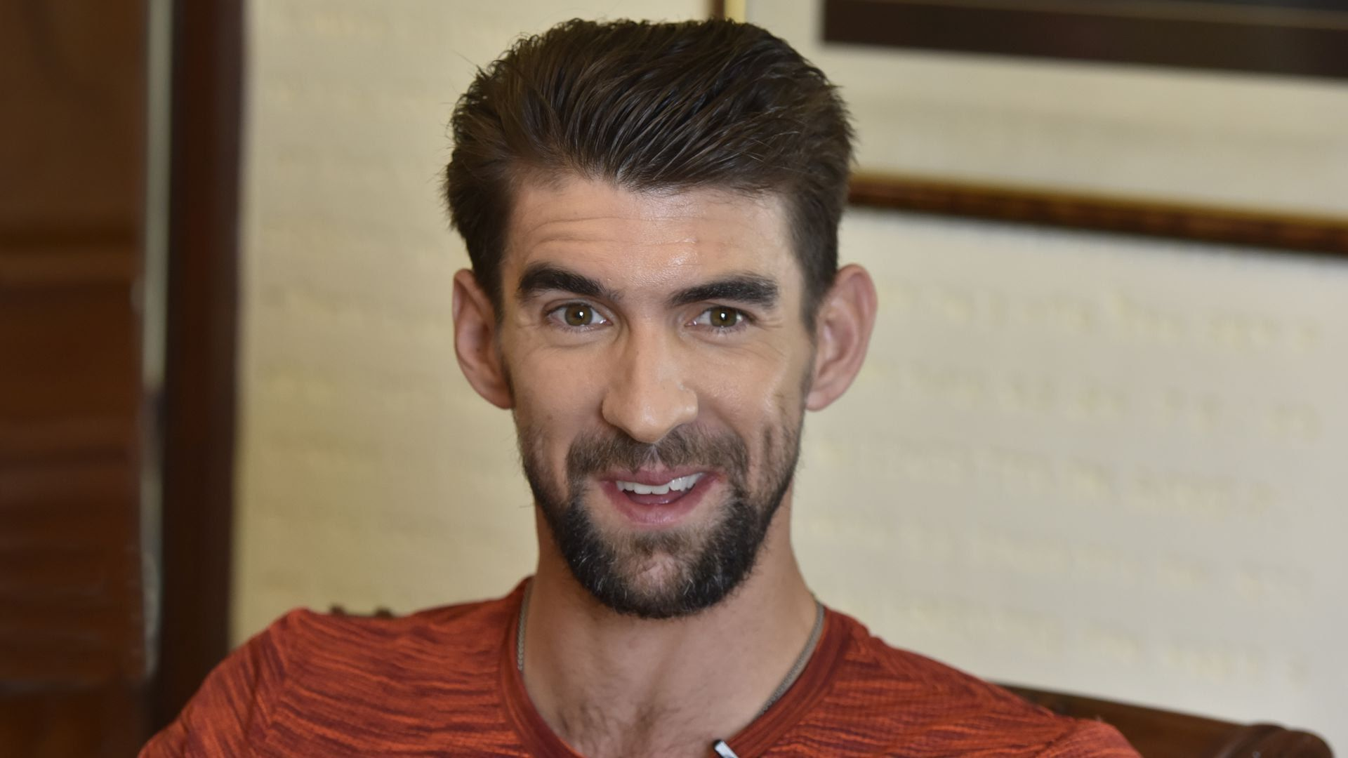 Retired Olympic swimmer Michael Phelps