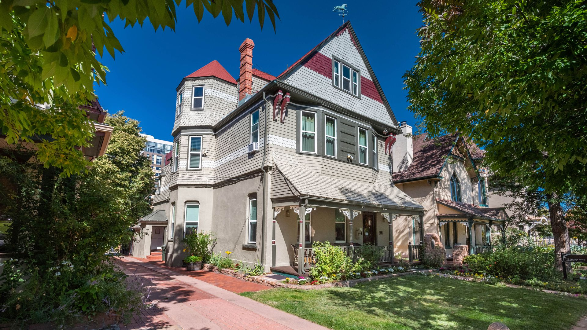The Queen Anne Bed & Breakfast. Photo courtesy of LIV Sotheby's International Realty