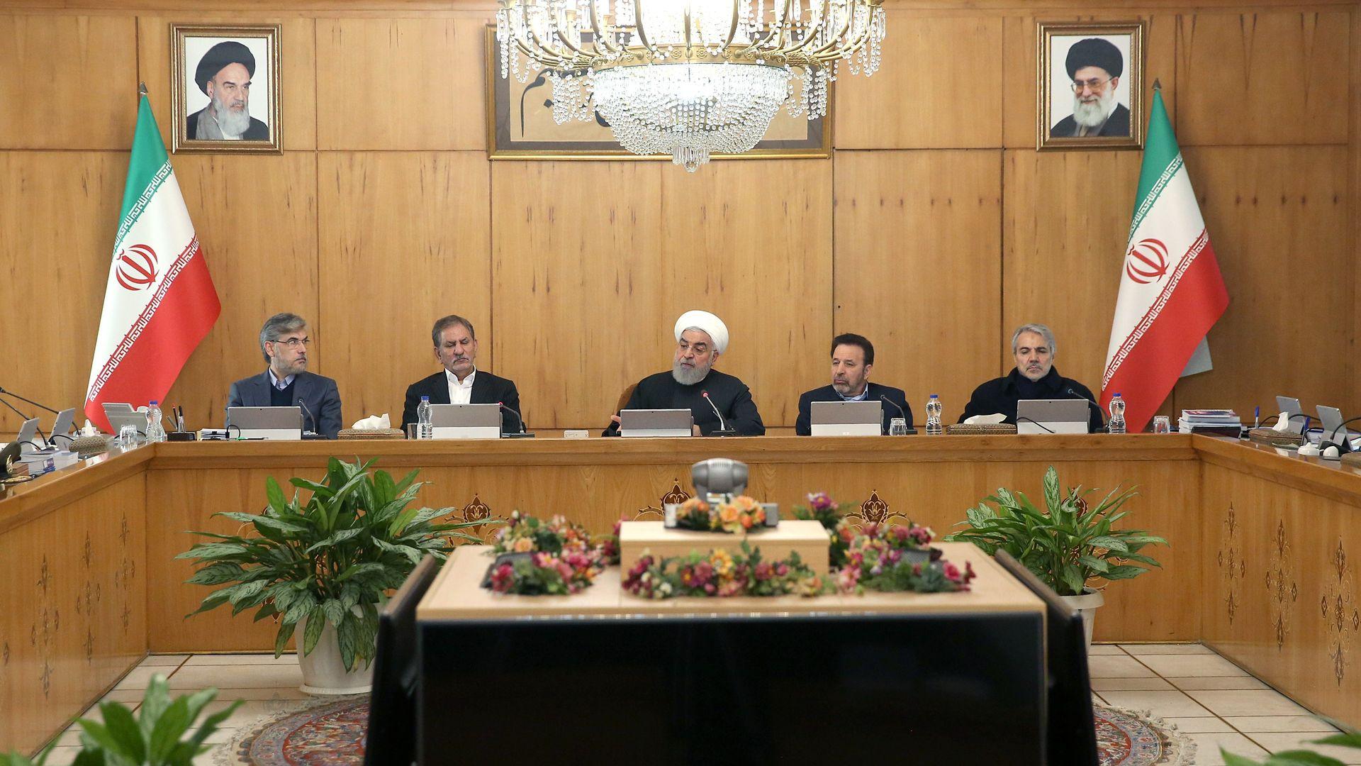 Iranian President Hassan Rouhan