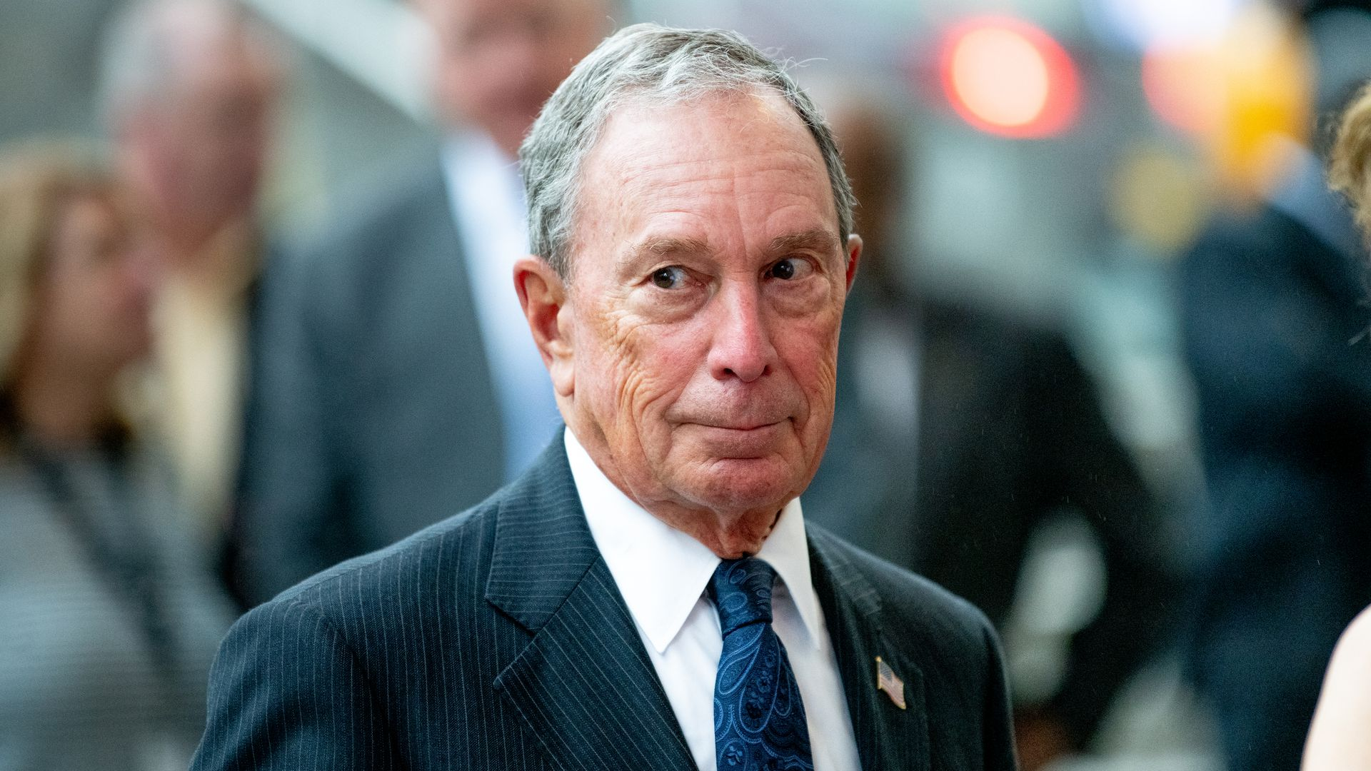 Michael Bloomberg files to enter Democratic presidential primary