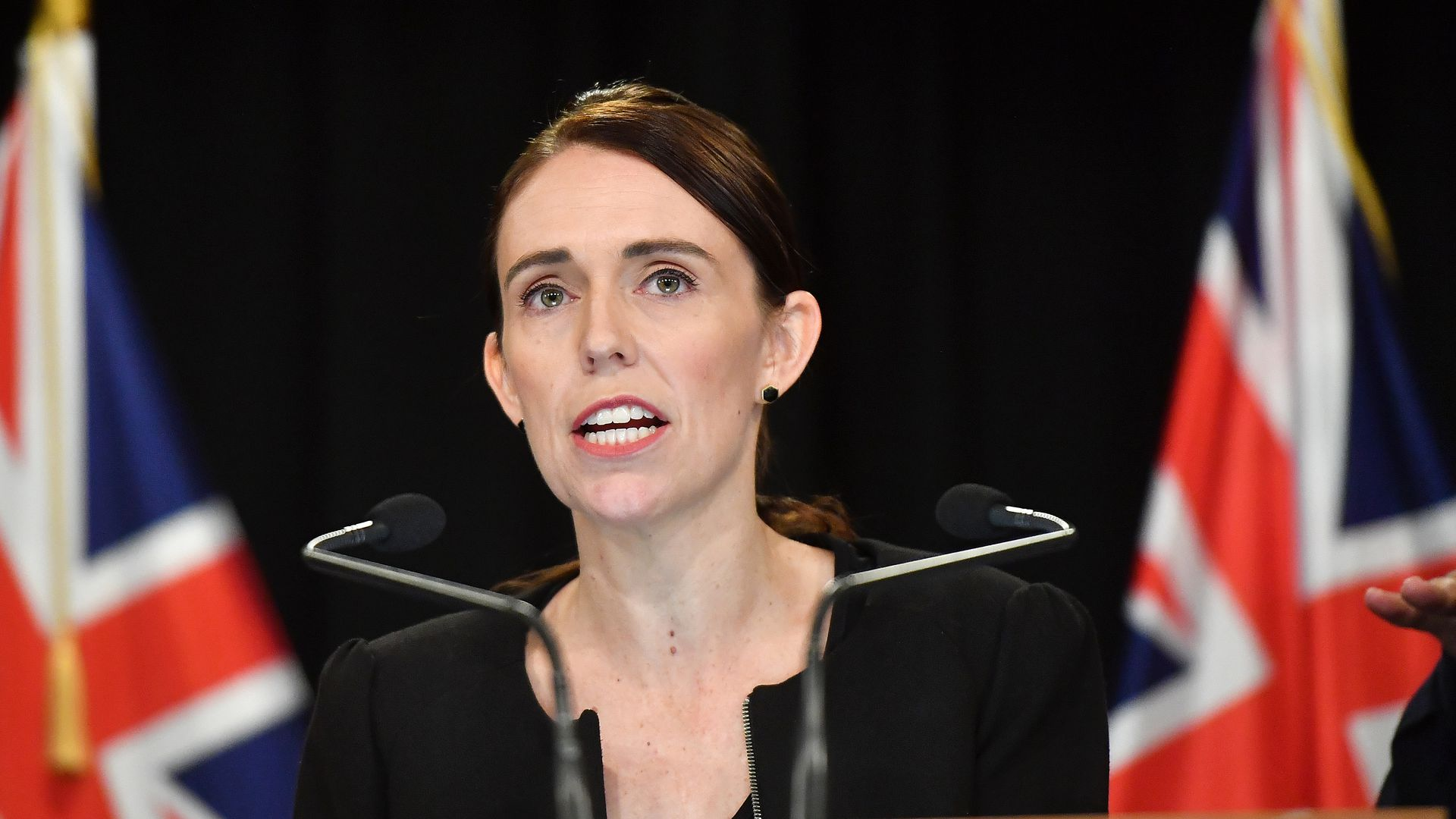 Jacinda Ardern has vowed to change the gun laws quickly.