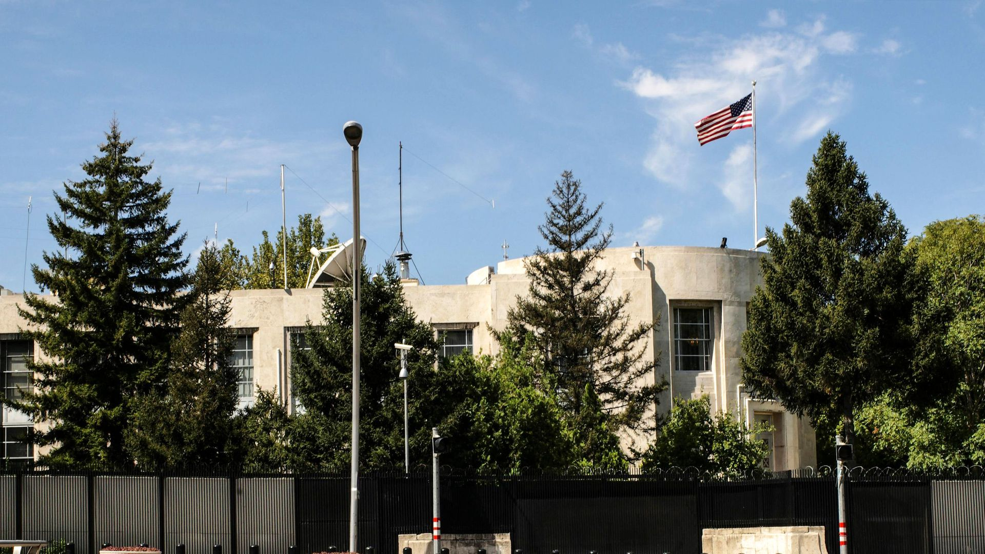 U.S. embassy in Turkey