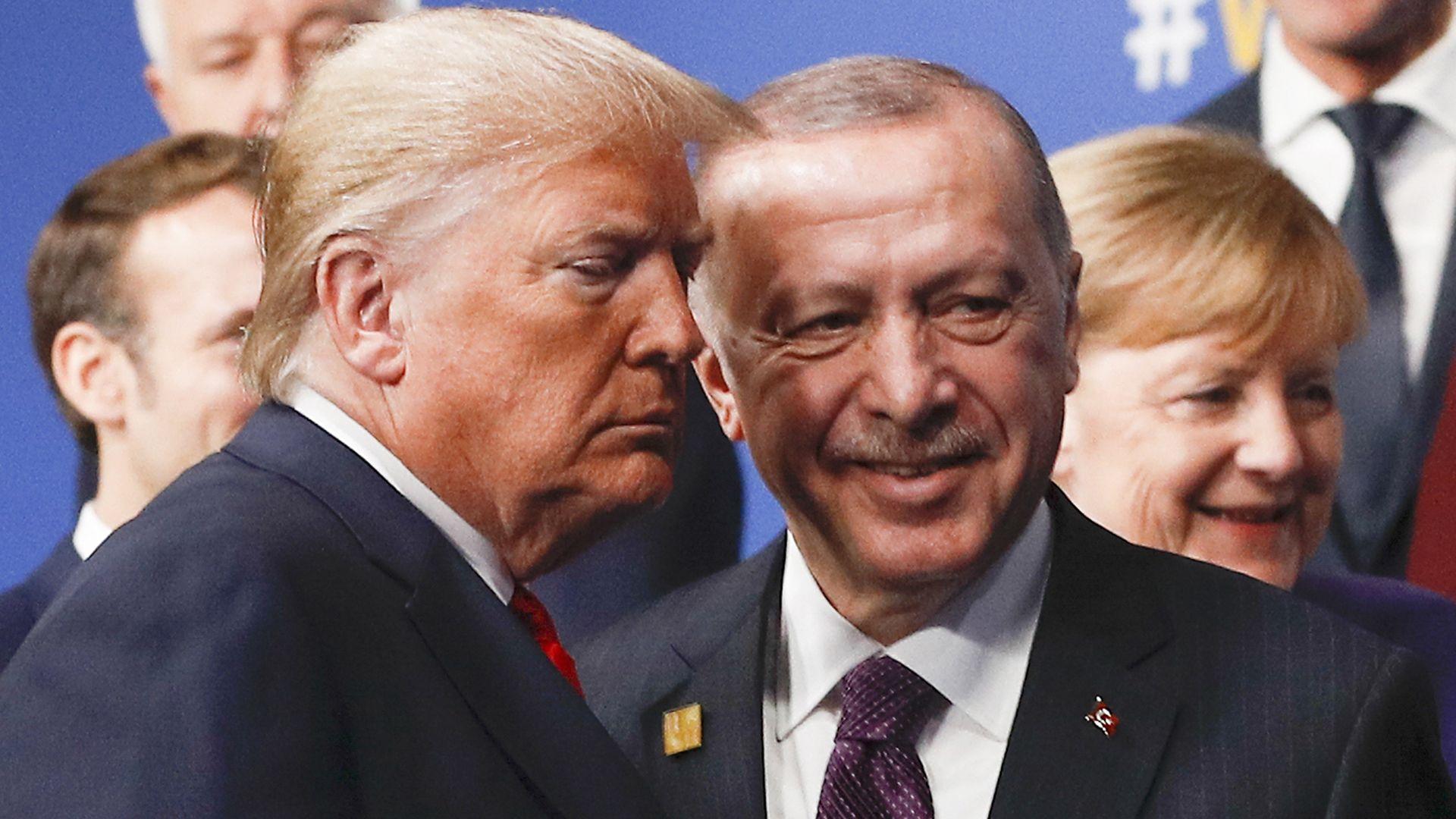 President Trump and Turkey's President Recep Tayyip Erdogan
