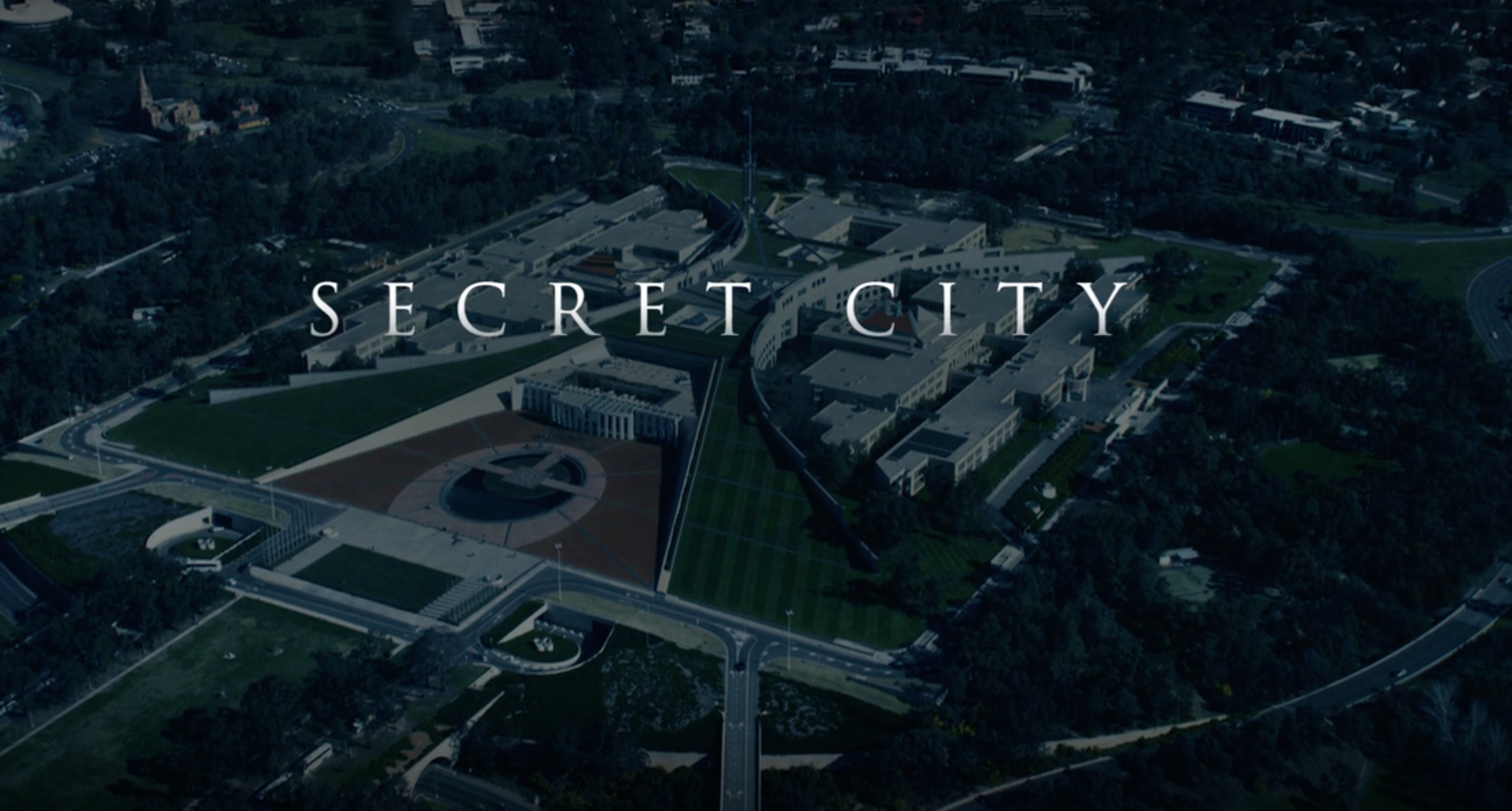 Screenshot from trailer of Secret City