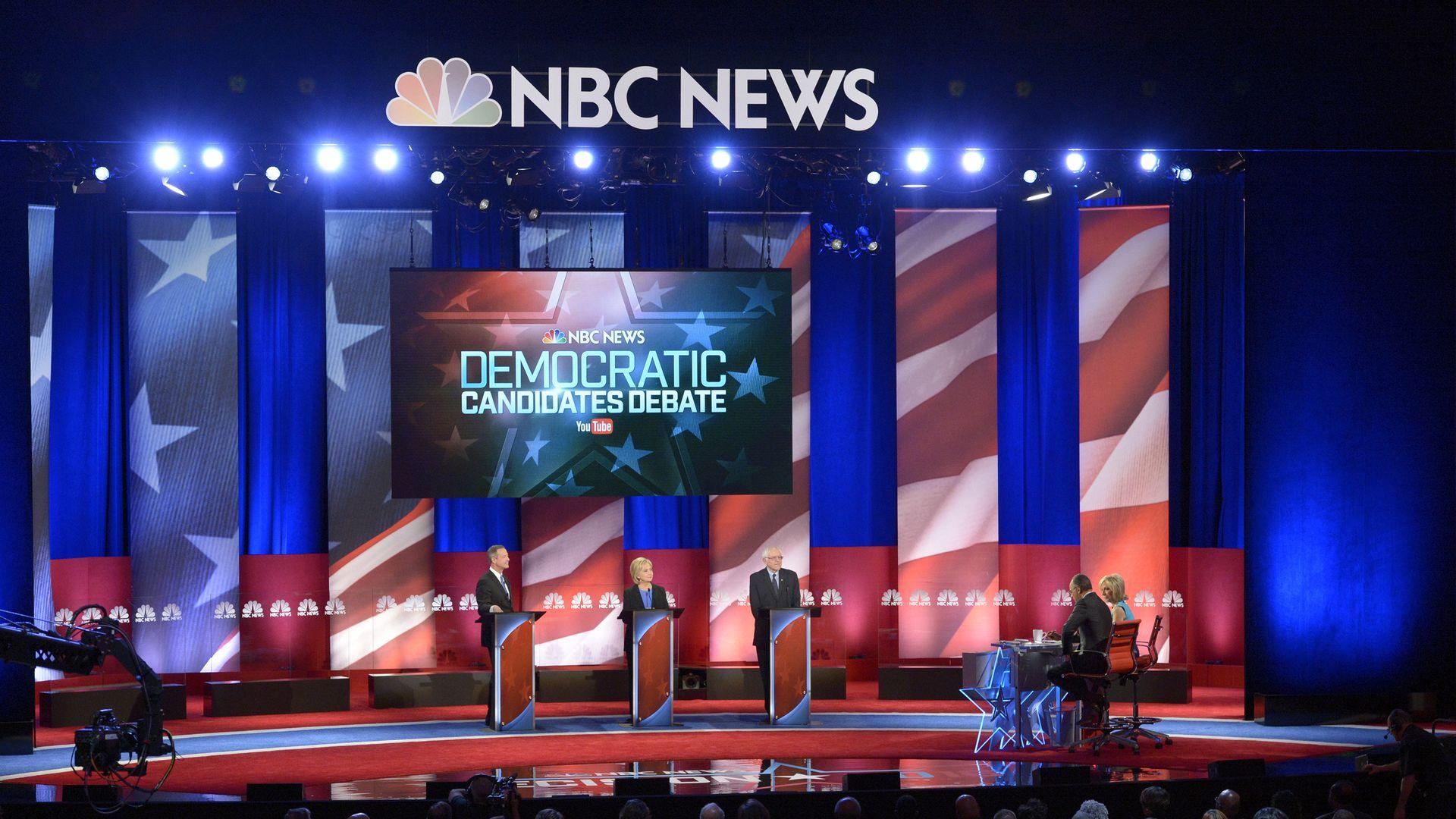 The 2016 Democratic presidential debate