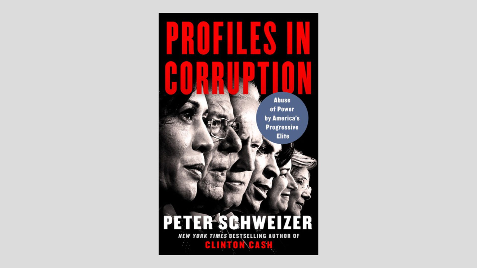"""Exclusive: Peter Schweizer book, """"Profiles in Corruption,"""" out Jan. 21"""