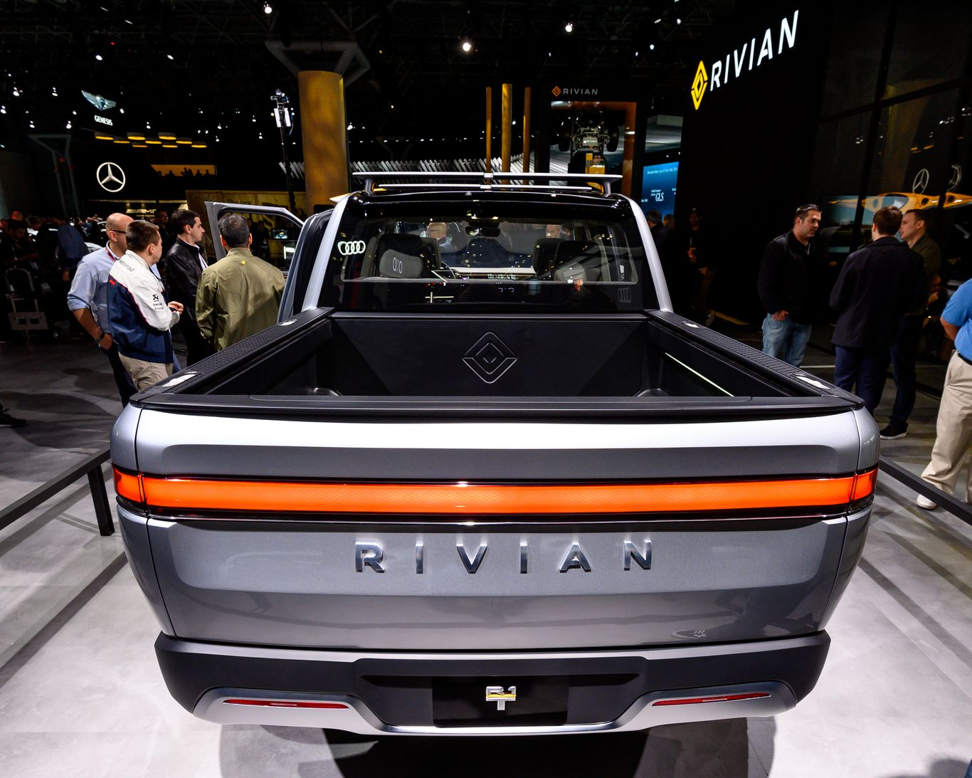 Electric vehicle startup Rivian lands $2.5 billion in new funding