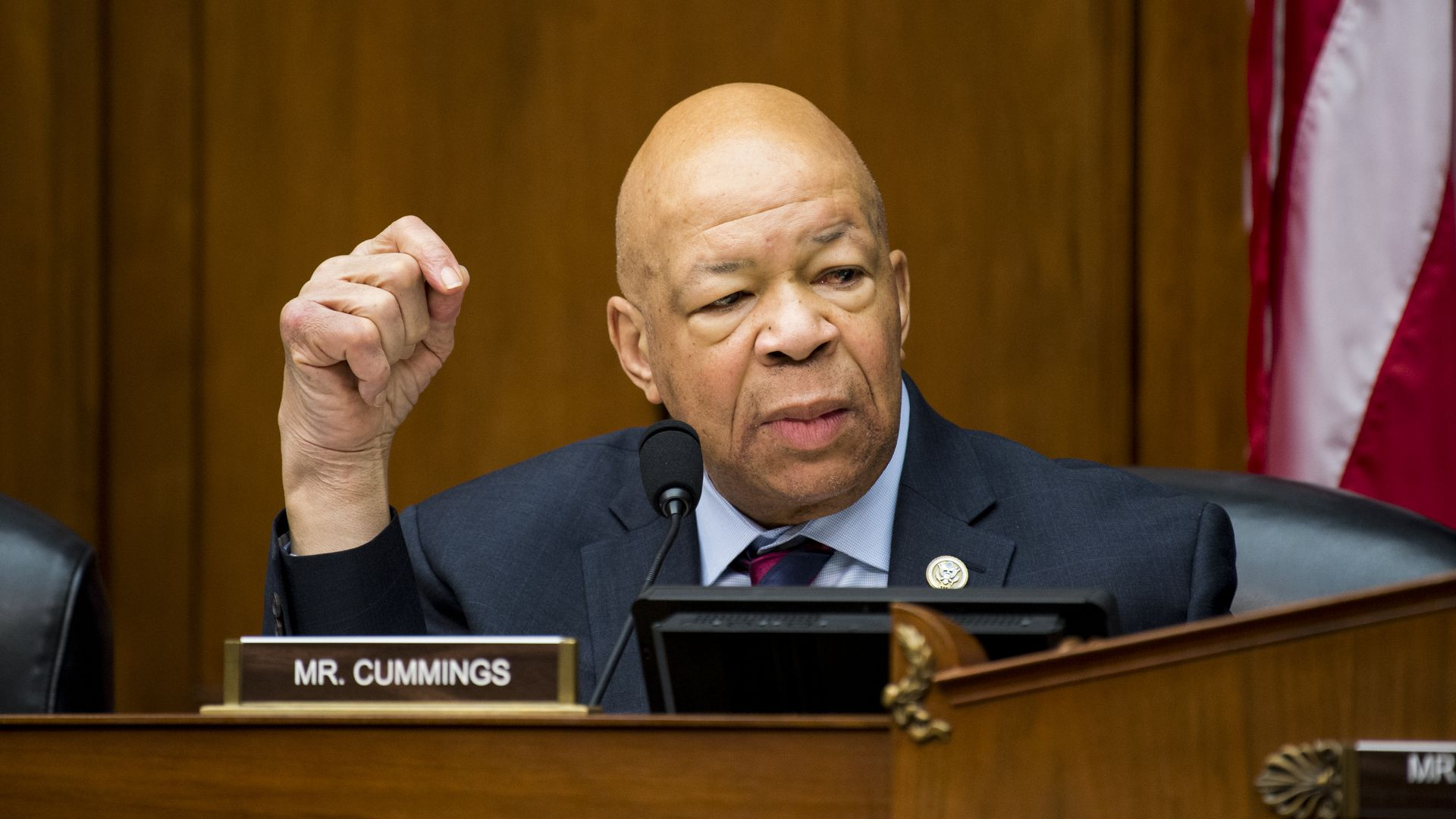 House Oversight and Government Reform Committee Chairman, Elijah Cummings, (D-Md.)