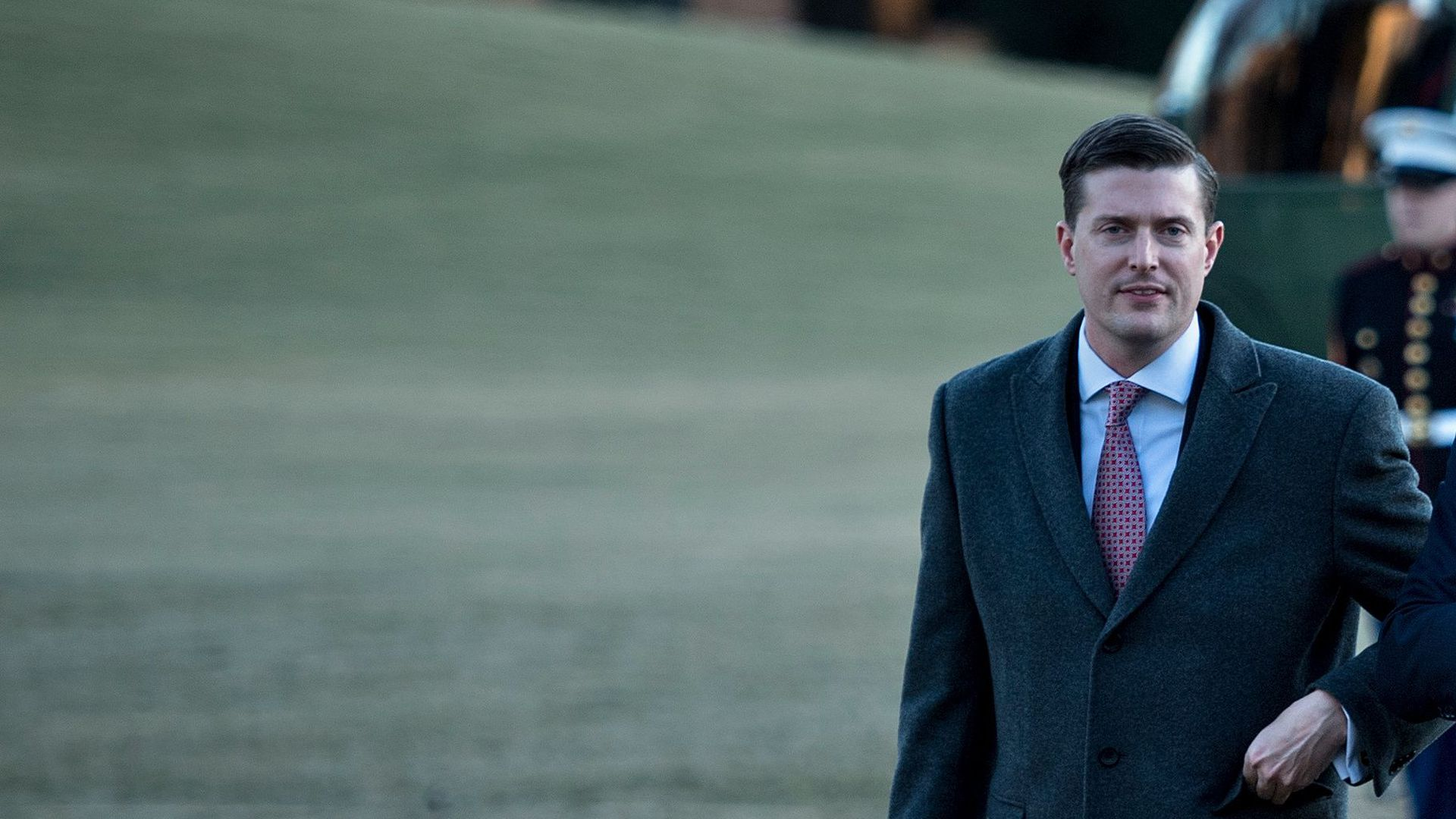White House staff secretary Rob Porter