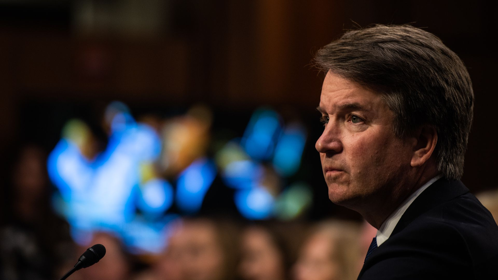 Supreme Court nominee Brett Kavanaugh testifies before the Senate Judiciary Committee