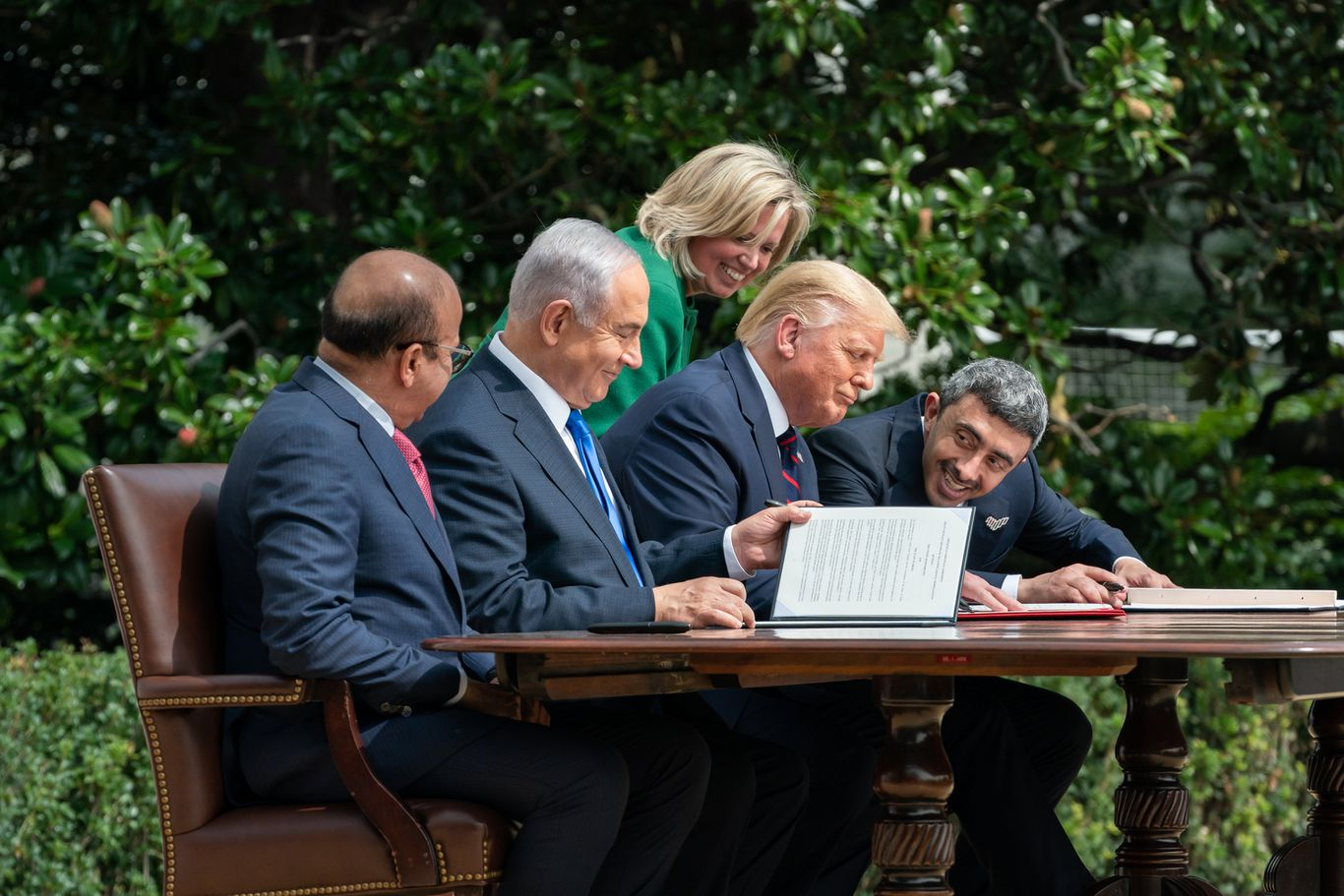 UAE-Israel treaty states commitment to meeting the needs of Israelis and Palestinians thumbnail