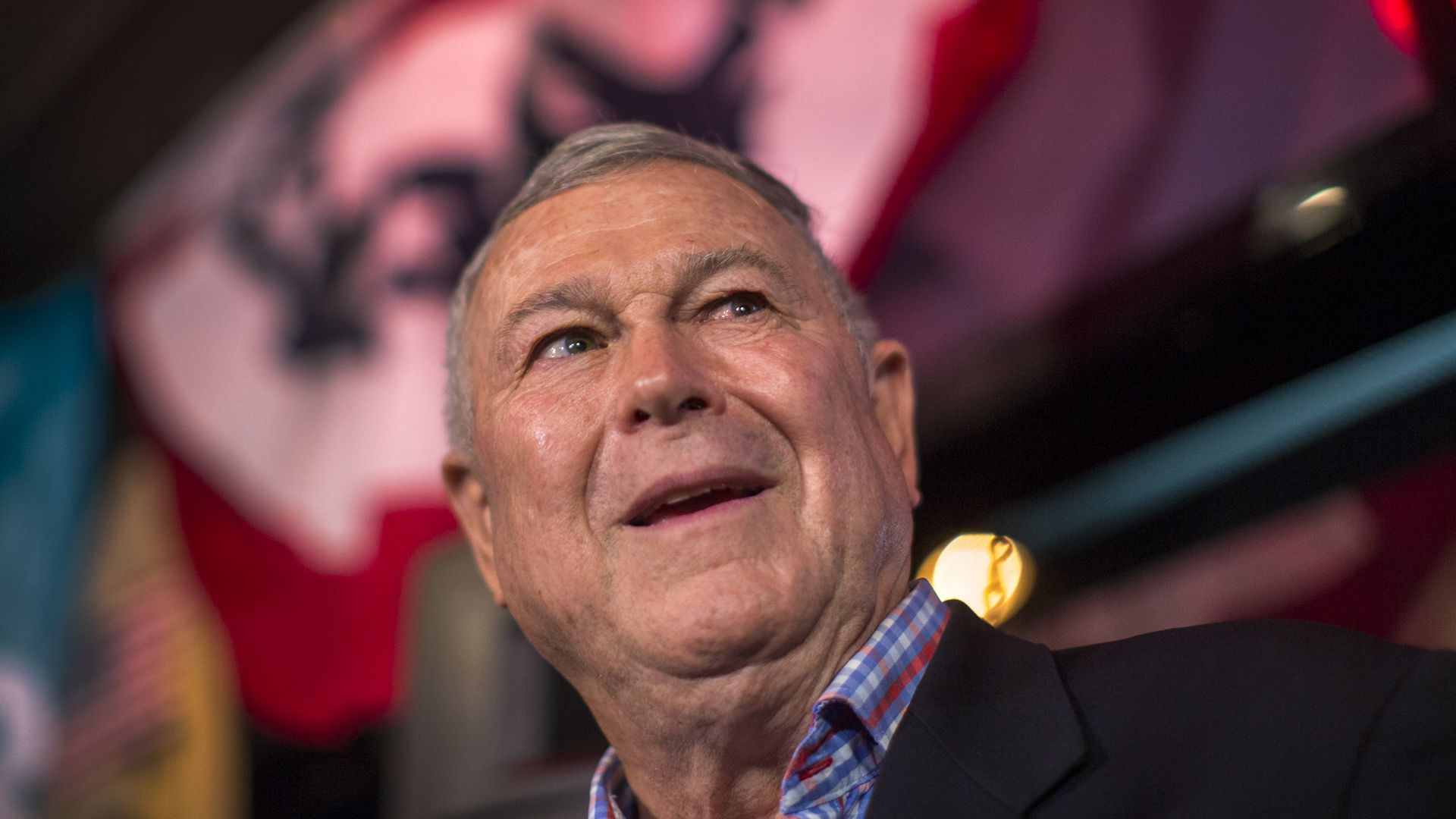 This is a picture of Dana Rohrabacher
