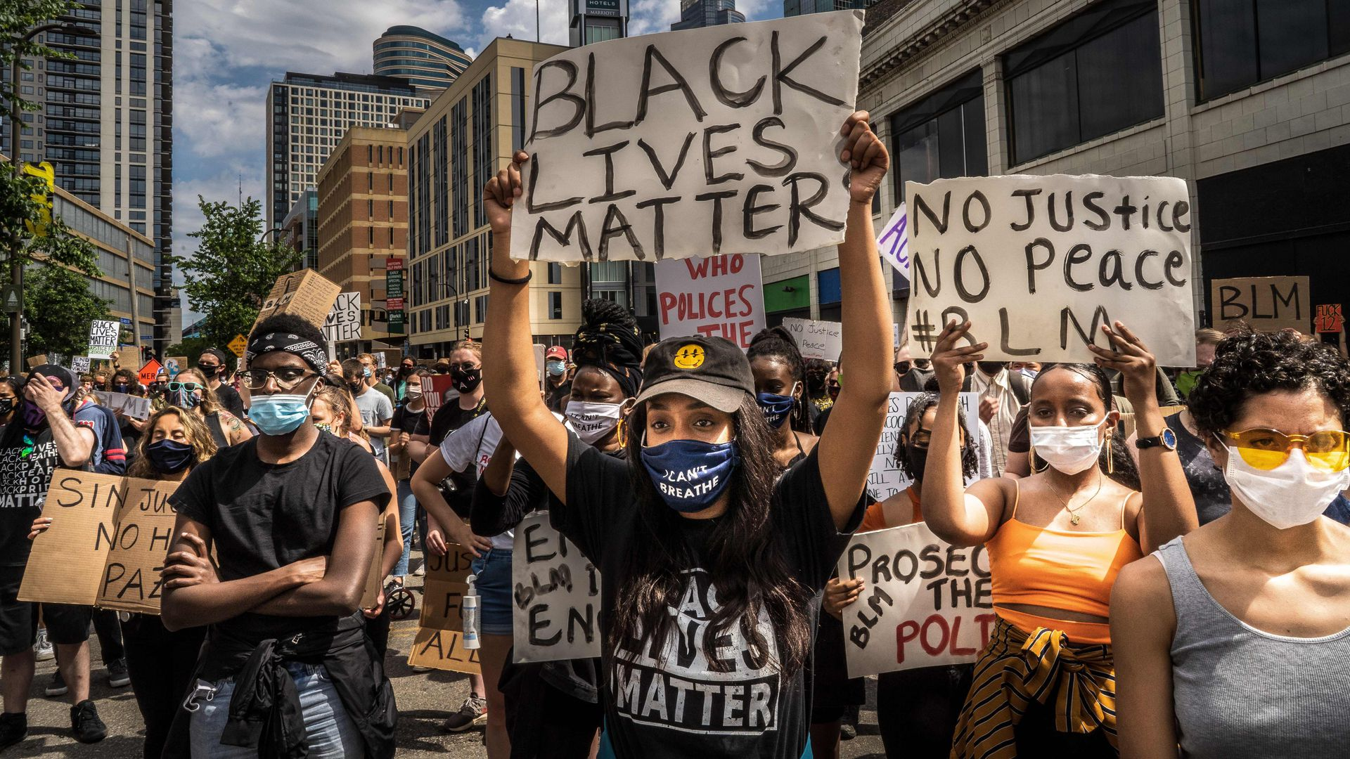 Black Lives Matter protests: What you need to know - Axios